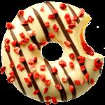 donut worry be happy Donut Strawjelly Jam