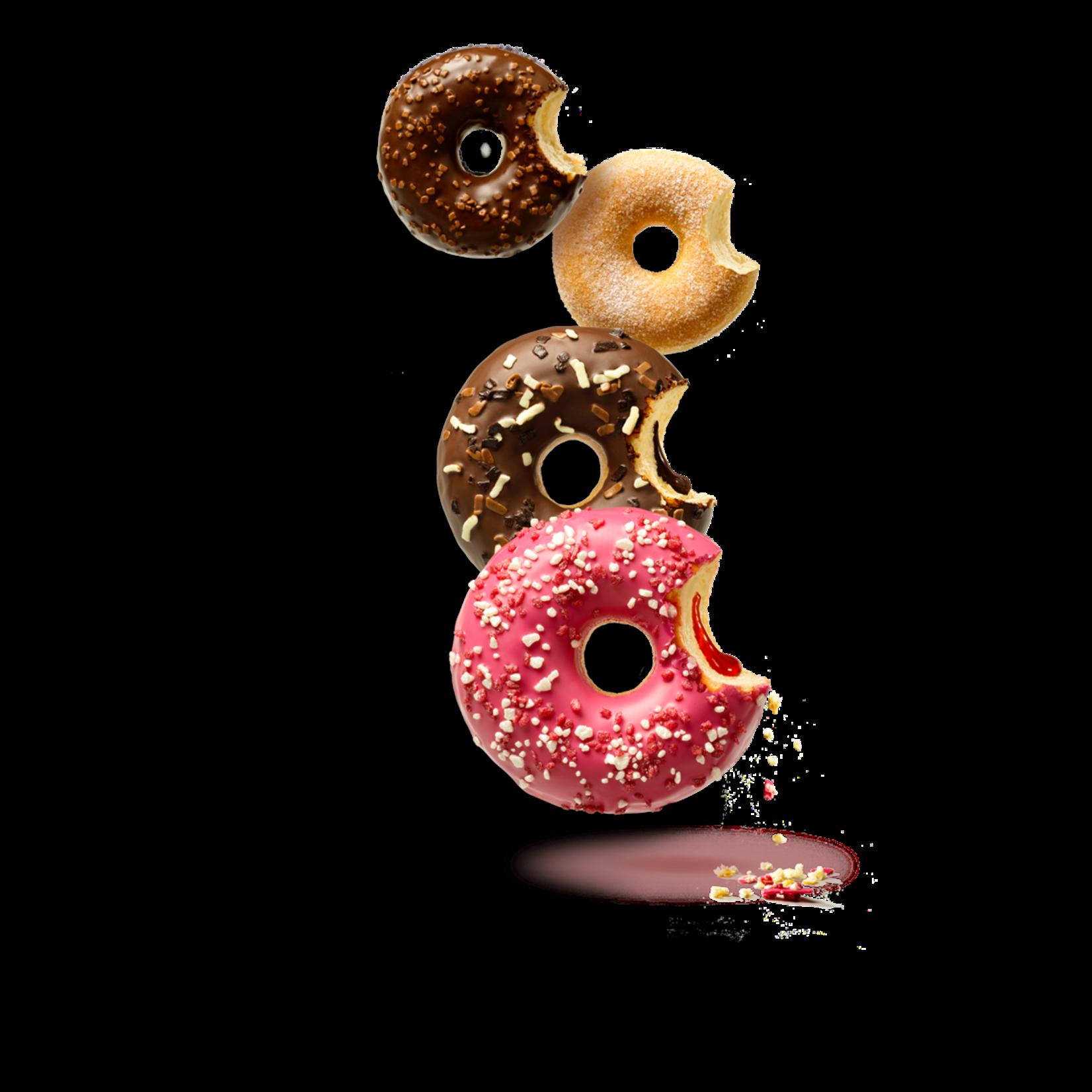 donut worry be happy AARDNEIENGLAZUUR & MARSHMALLOW