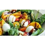 Salade Perzik Tonijn