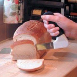 Broodmes met gehoekt handvat