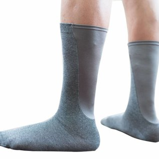Xpandasox  effen kuithoogte sokken van Xpandasox