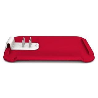 Able2 Snijbord rood
