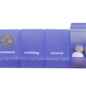 Able2 Pillenbox 1 week - 4 vaks NL