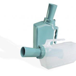 Urinaal met terugloop beveiliging