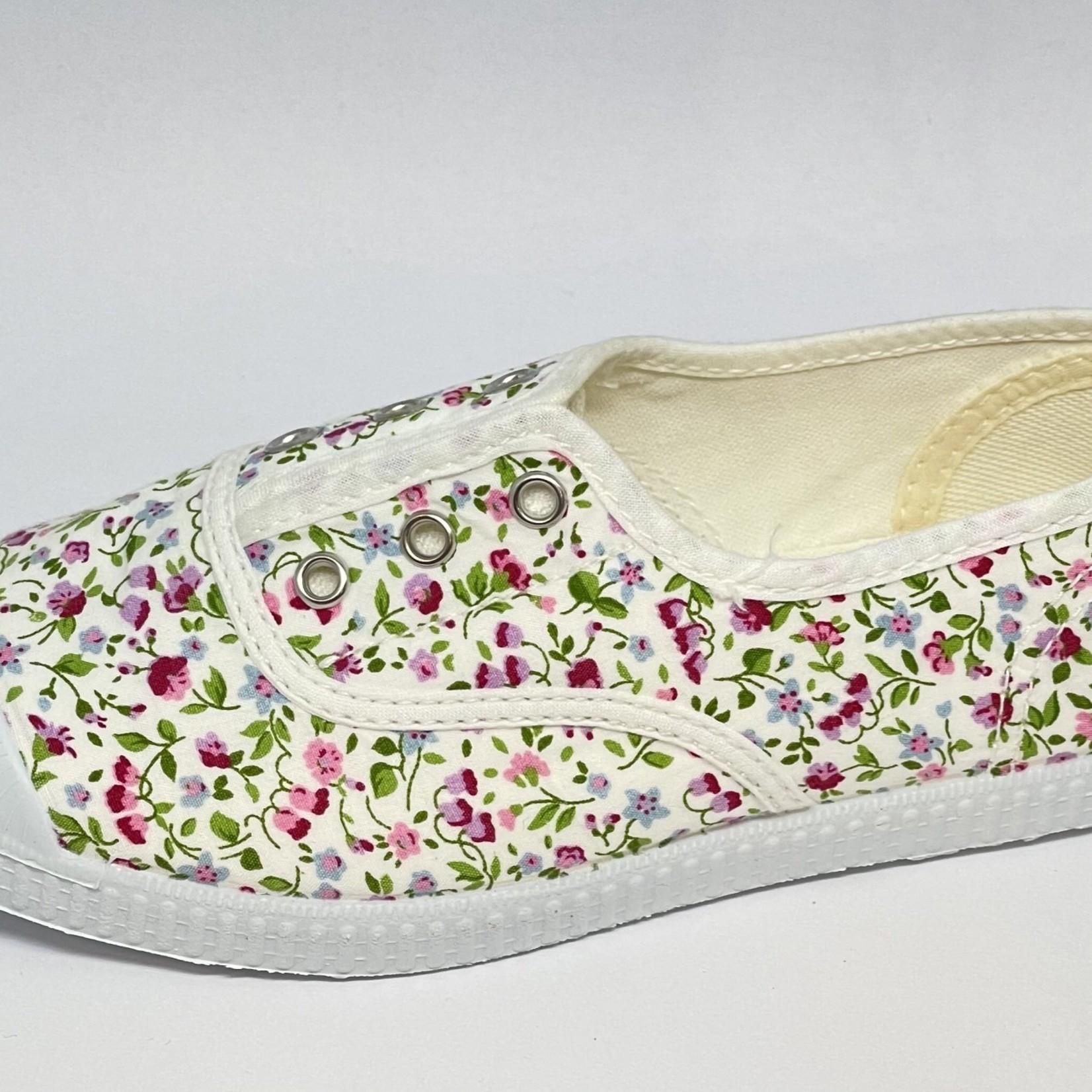 Cienta Wit bloemen