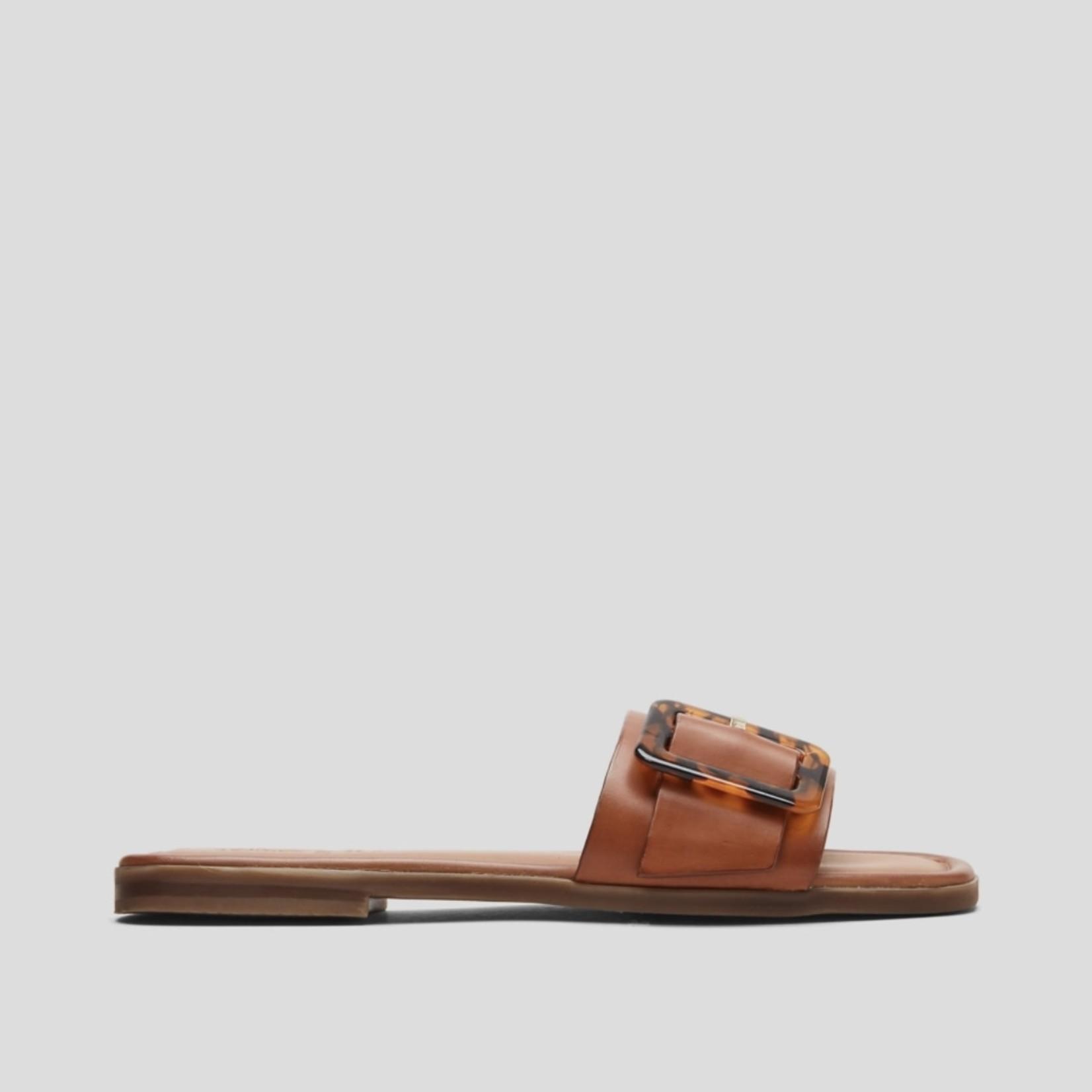 S.Oliver Slipper Cognac