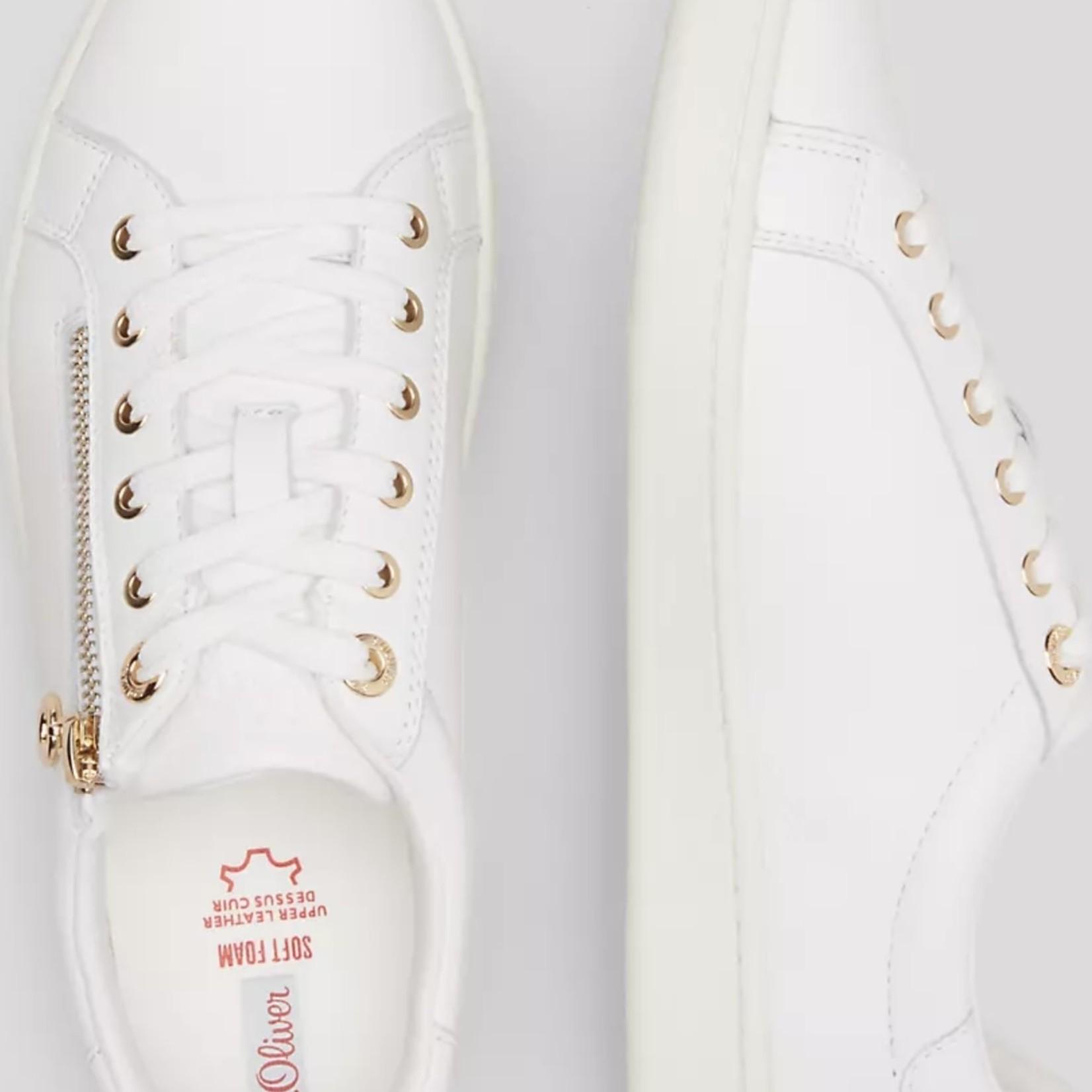 S.Oliver Sneaker White/gold