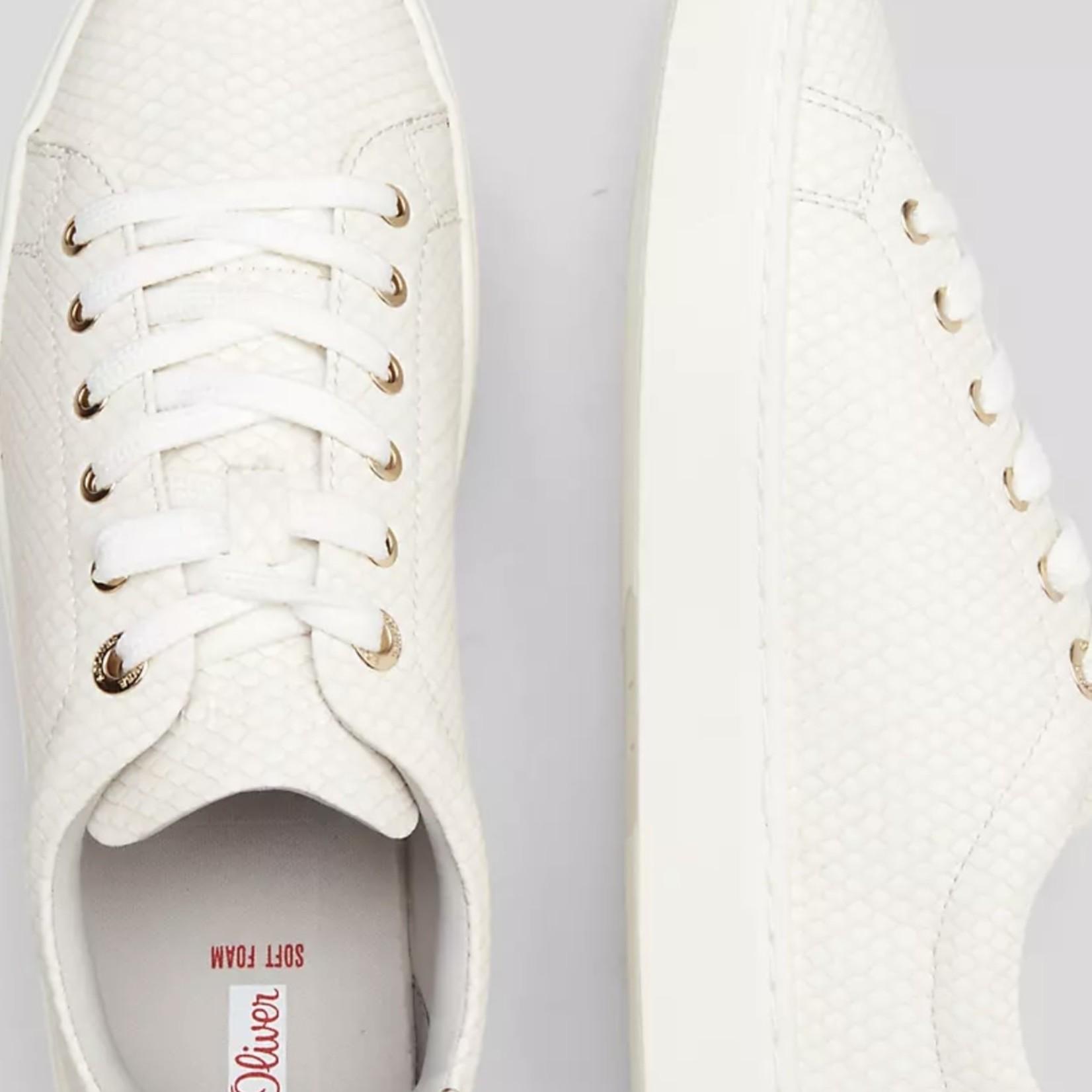 S.Oliver Sneaker White