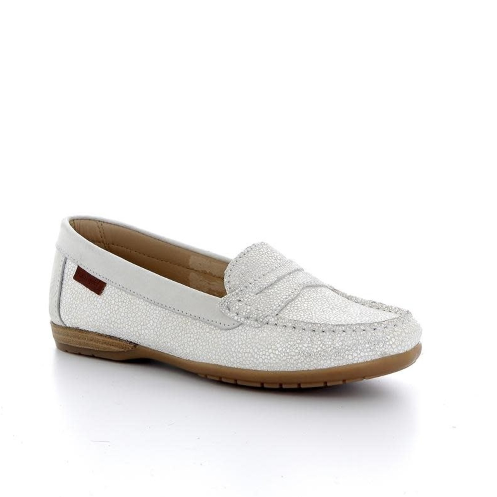 Hush Puppies Moccasin Wit