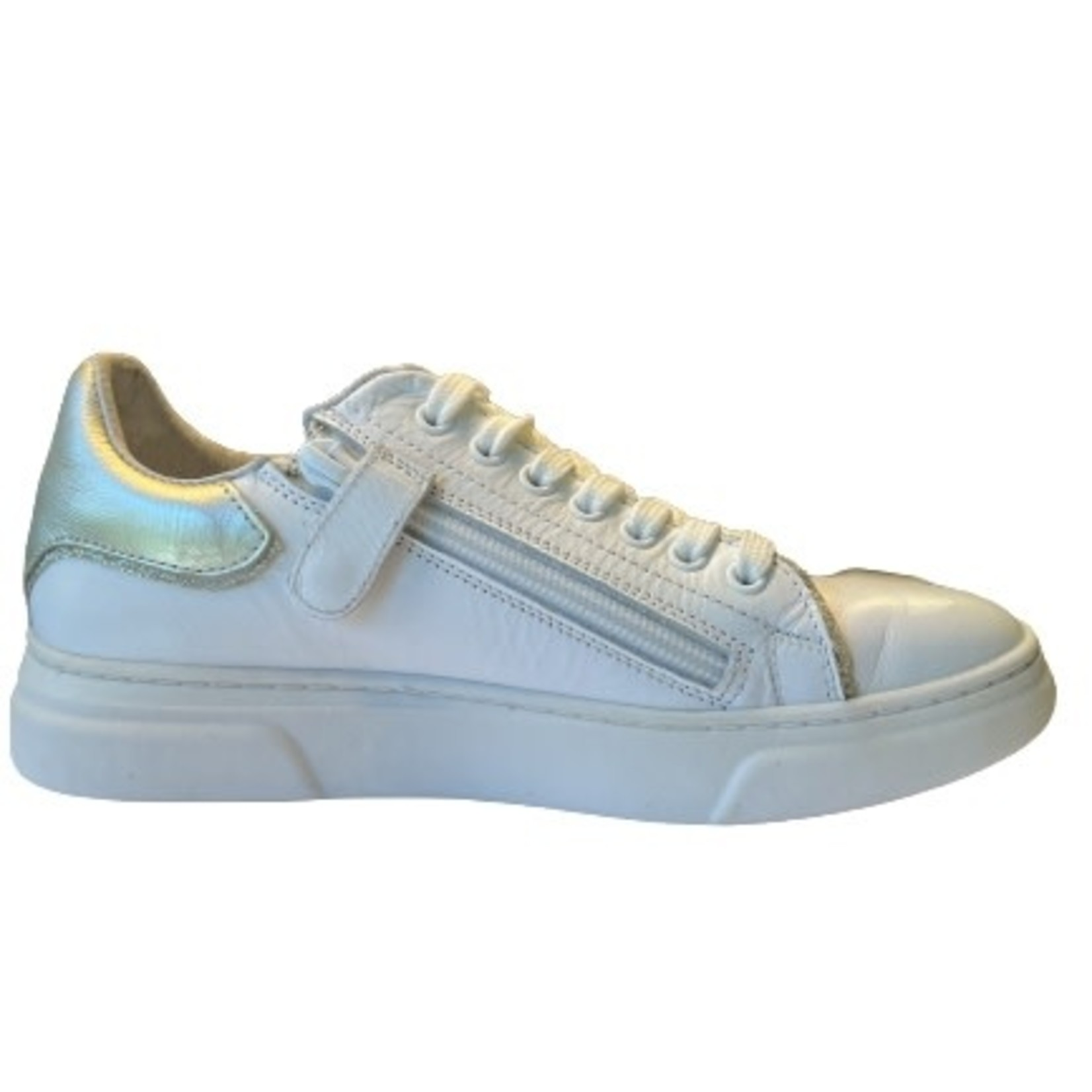 Sneaker Wit/goud