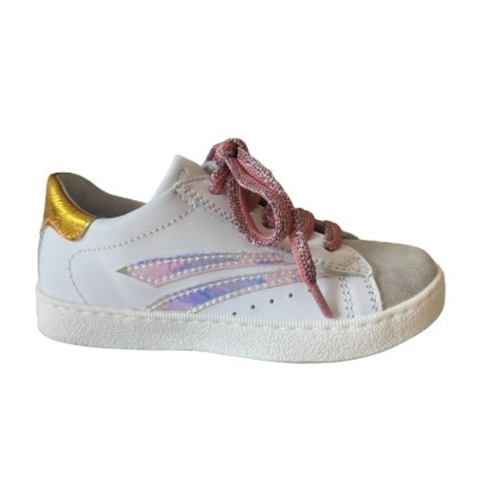 Fr. Romag Fr. Romag Sneaker Wit/zilver/goud