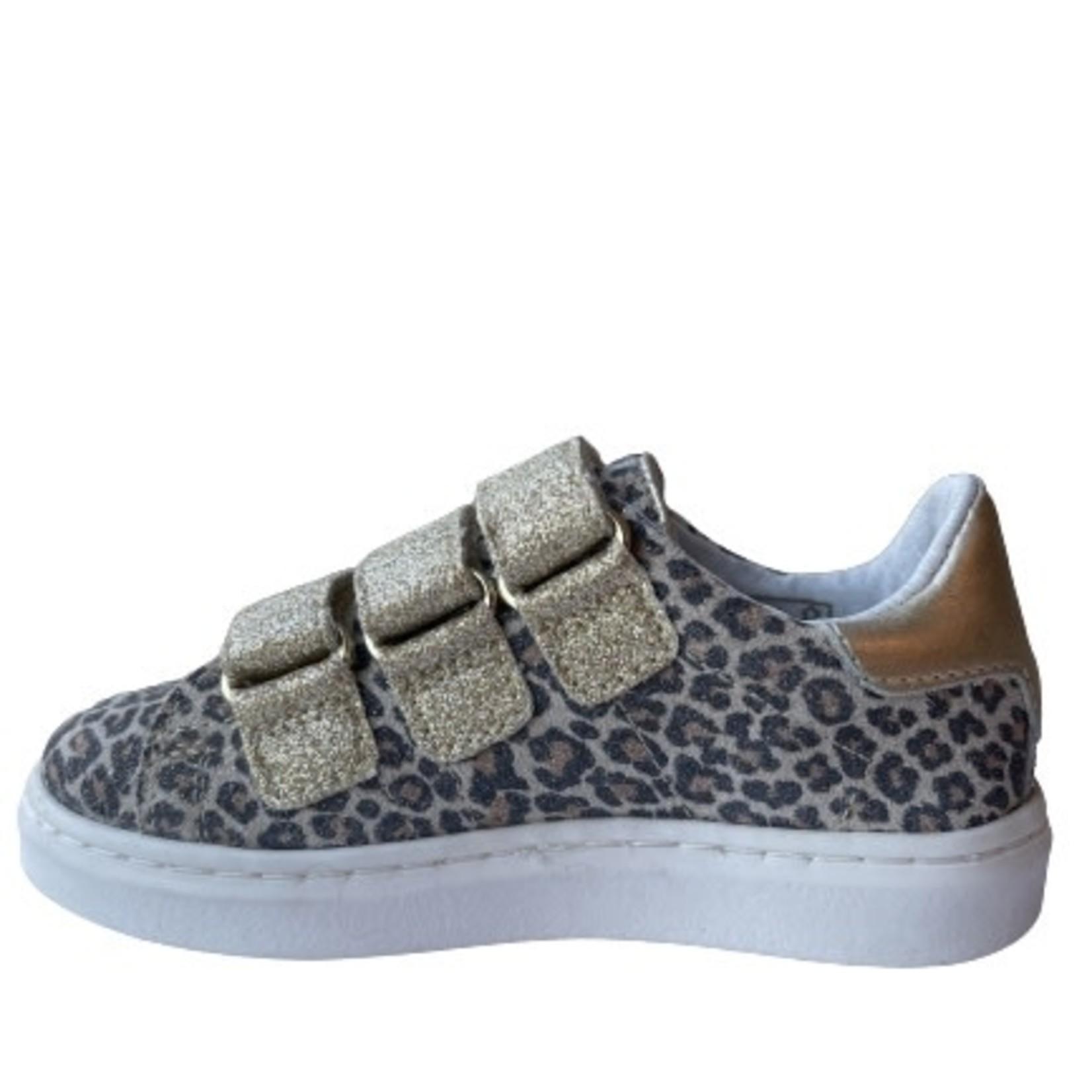 Sneaker Goud/leo