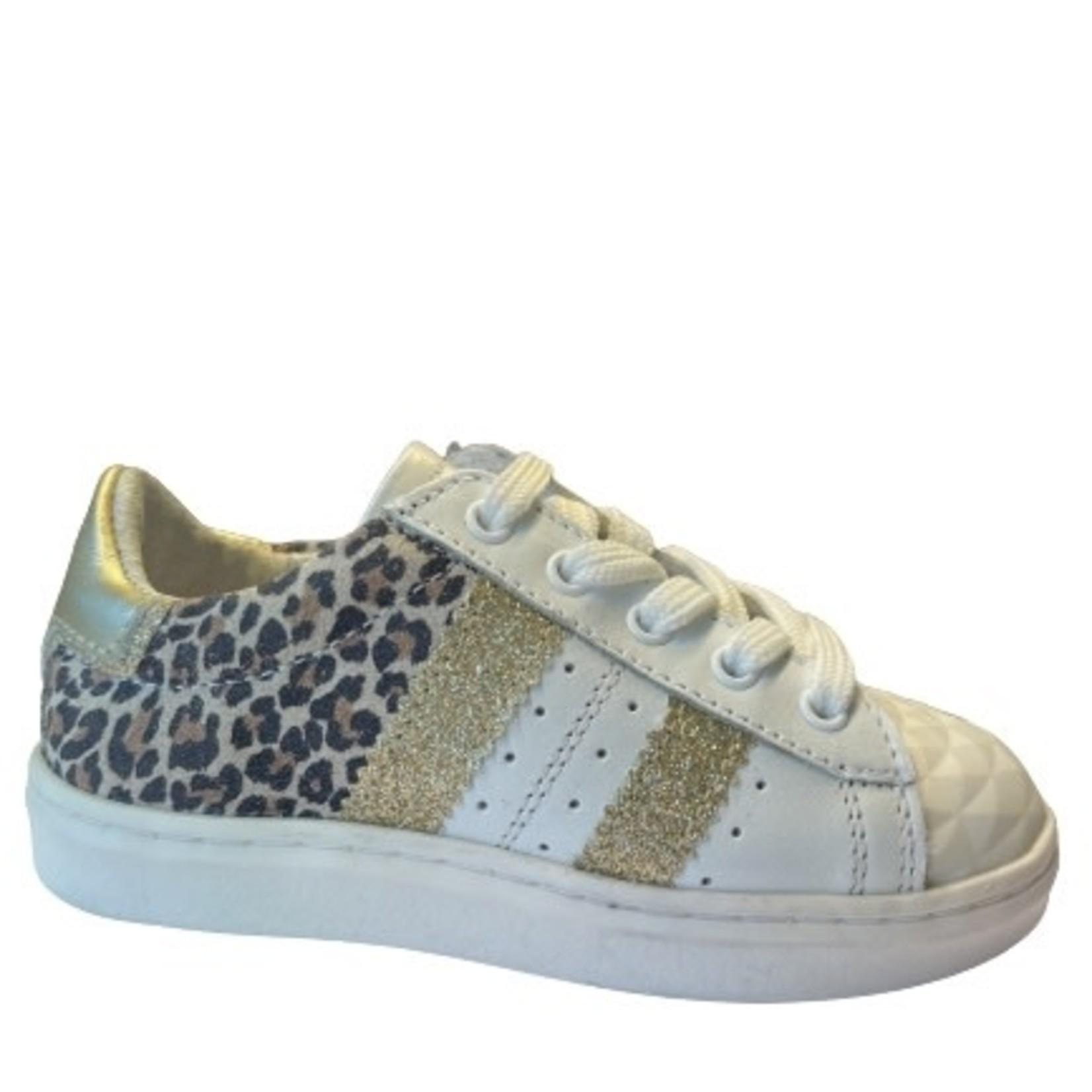 Sneaker Wit/leo