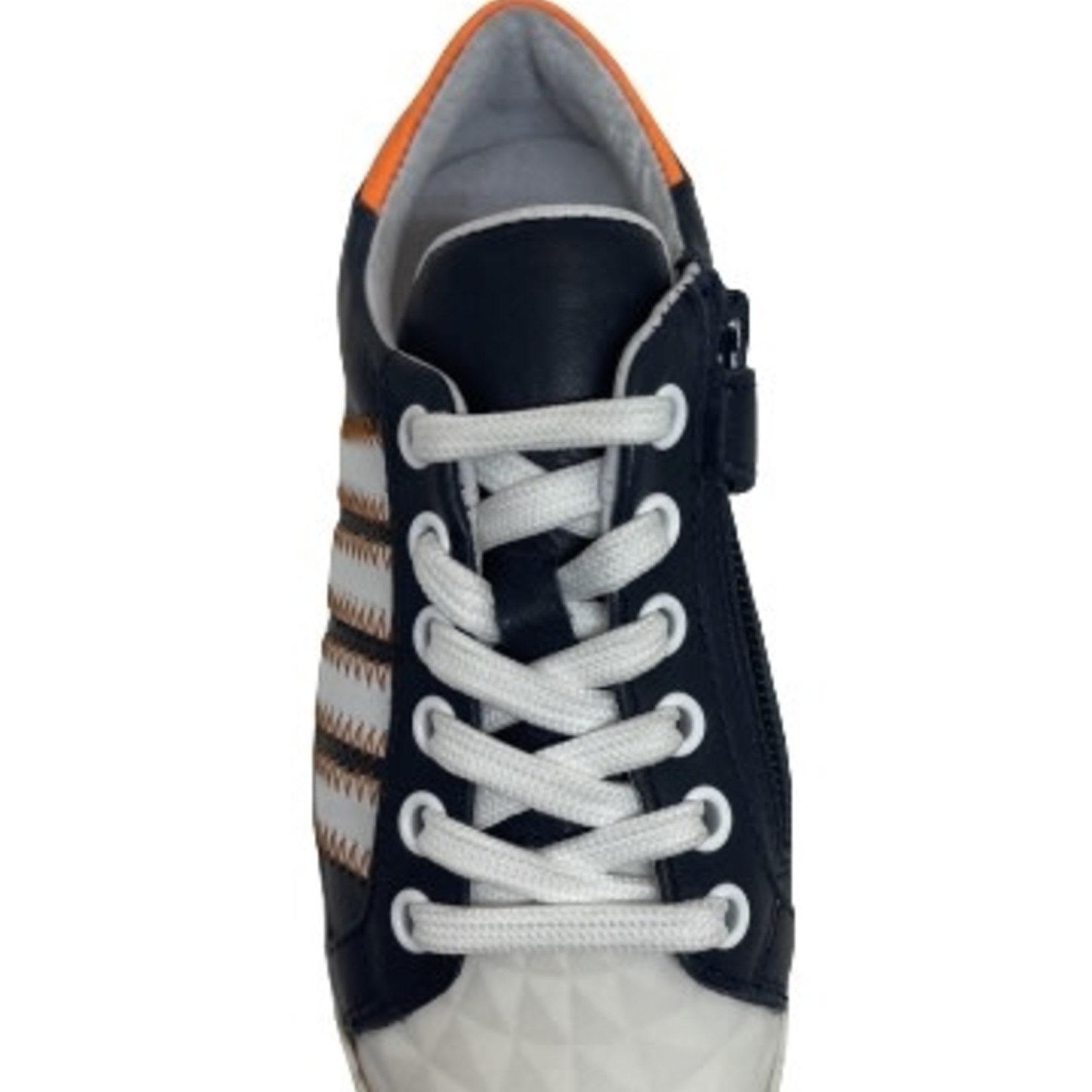 Sneaker Blauw/oranje