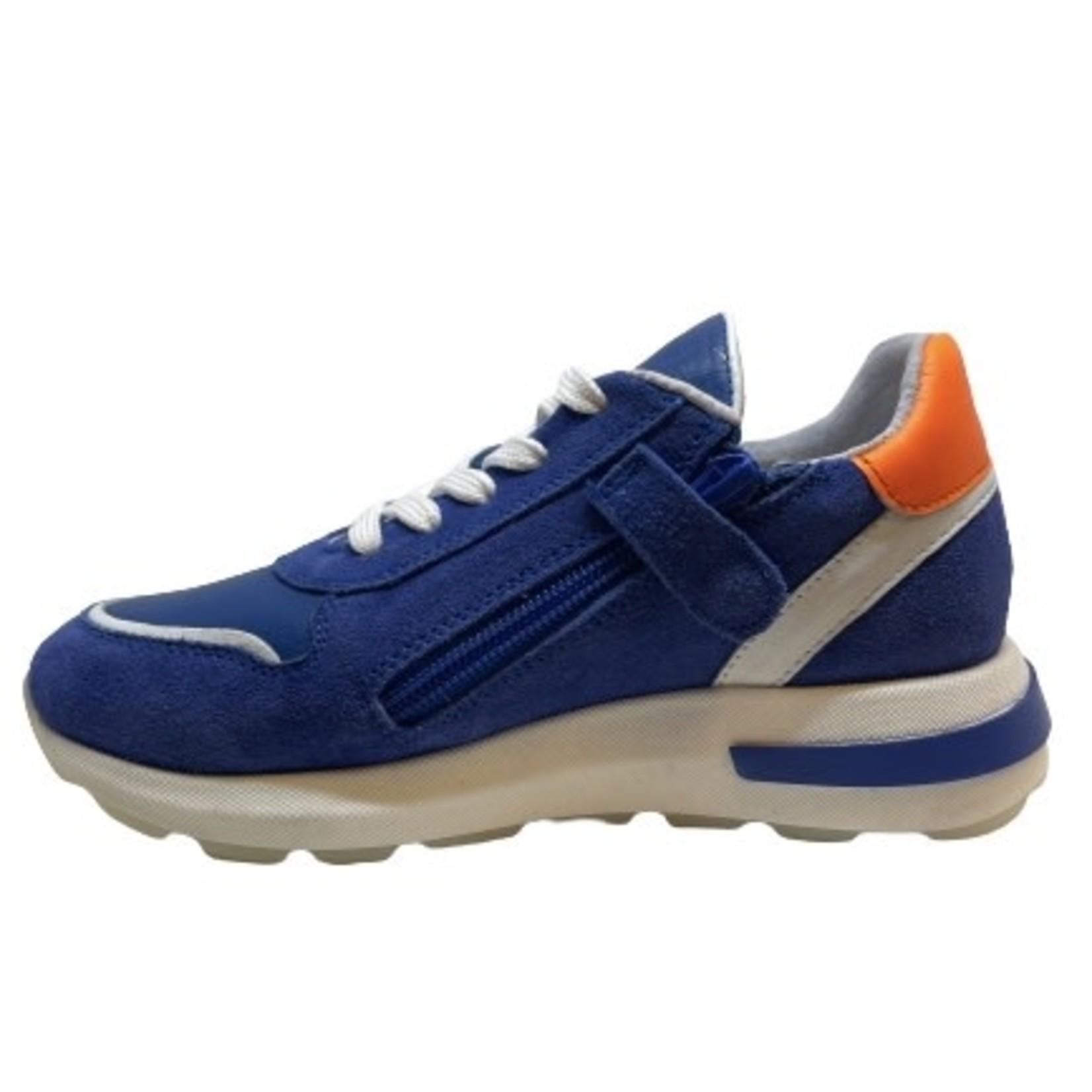Sneaker Cobalt/oranje