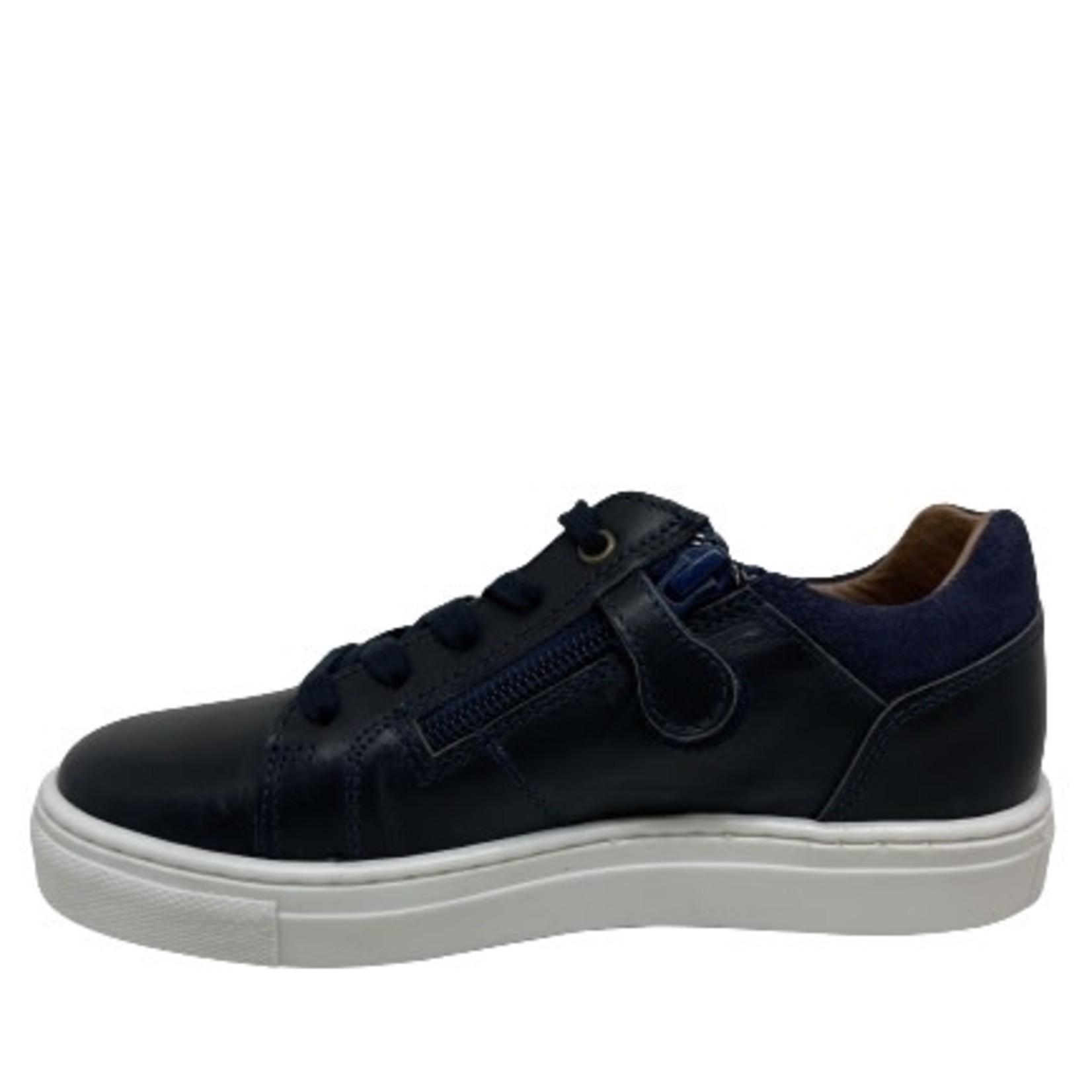 Lage schoen Veter/rits Blauw