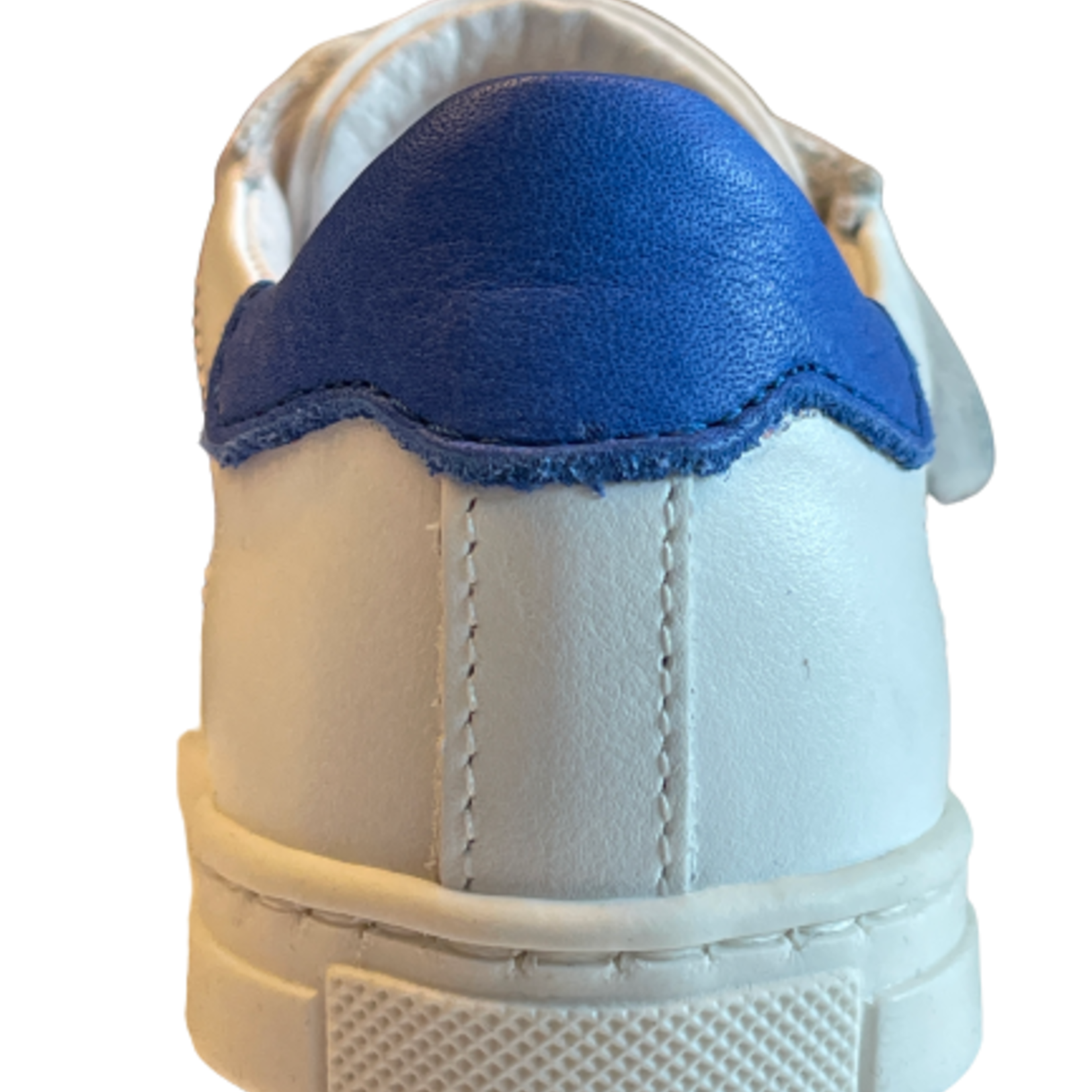 Wit/blauw velcro