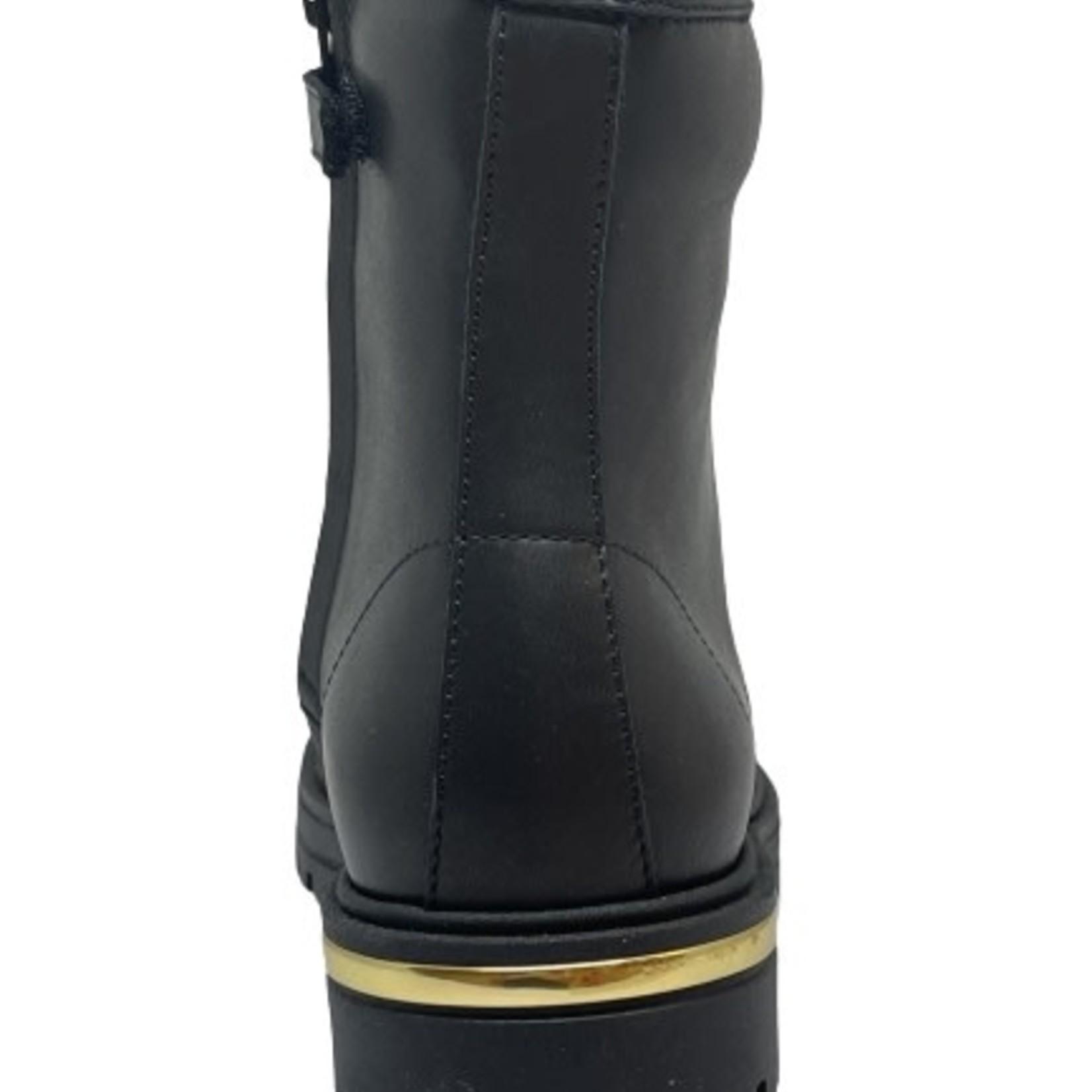 Lunella Lunella Hoge schoen Zwart/goud