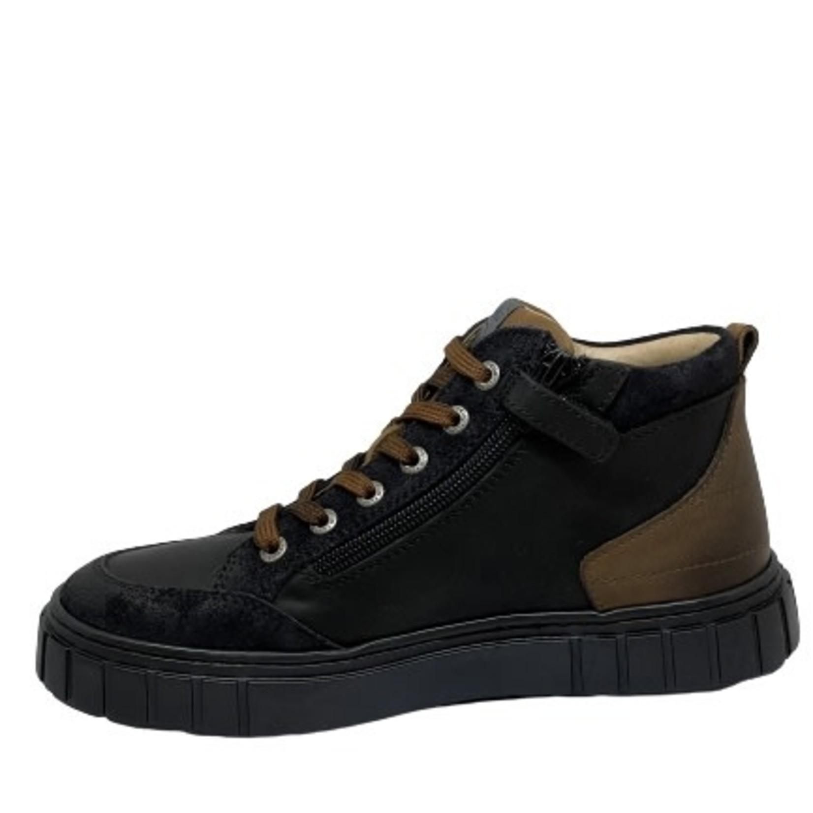 Lunella Lunella Hoge schoen Zwart/bruin