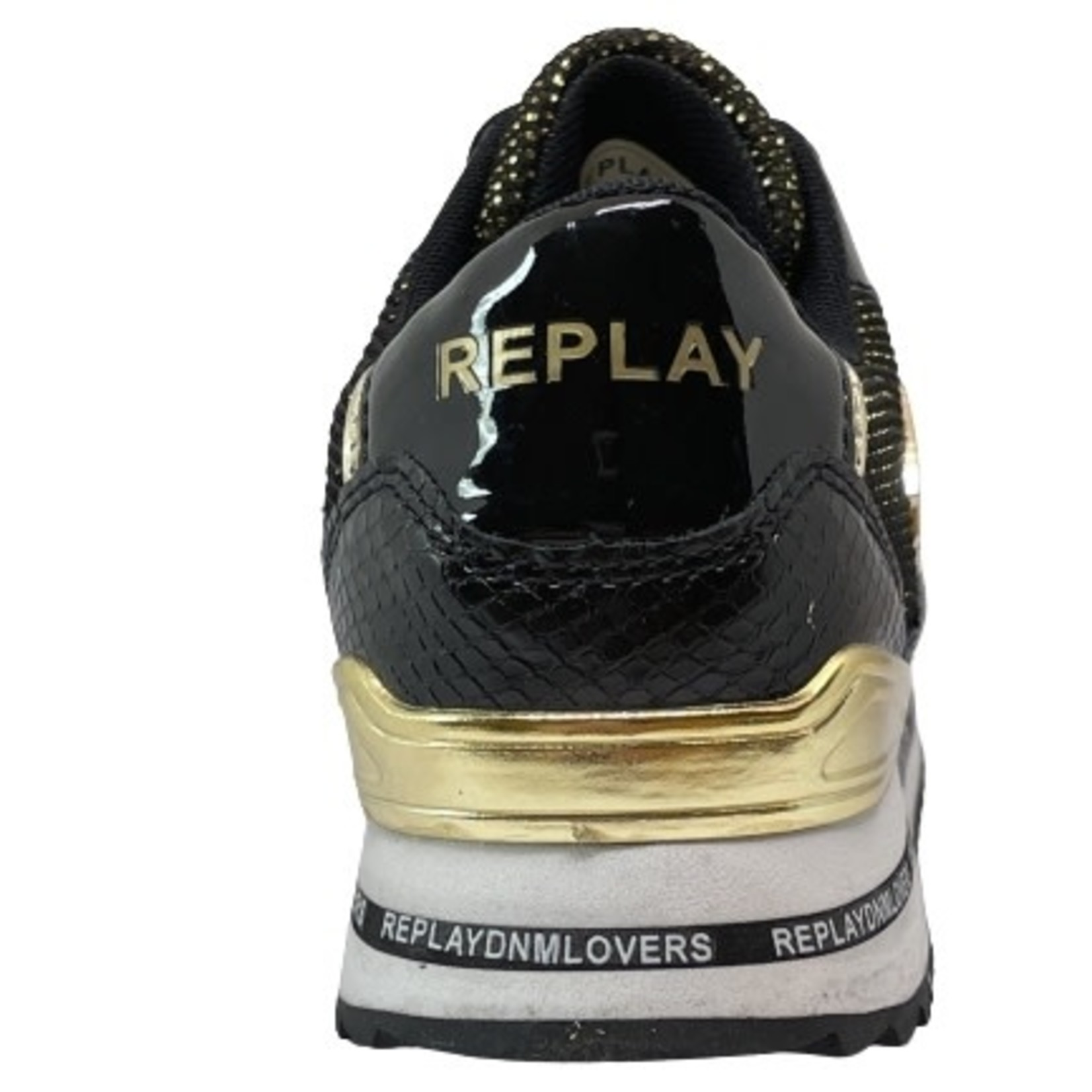 Replay Replay Barbican Zwart/goud