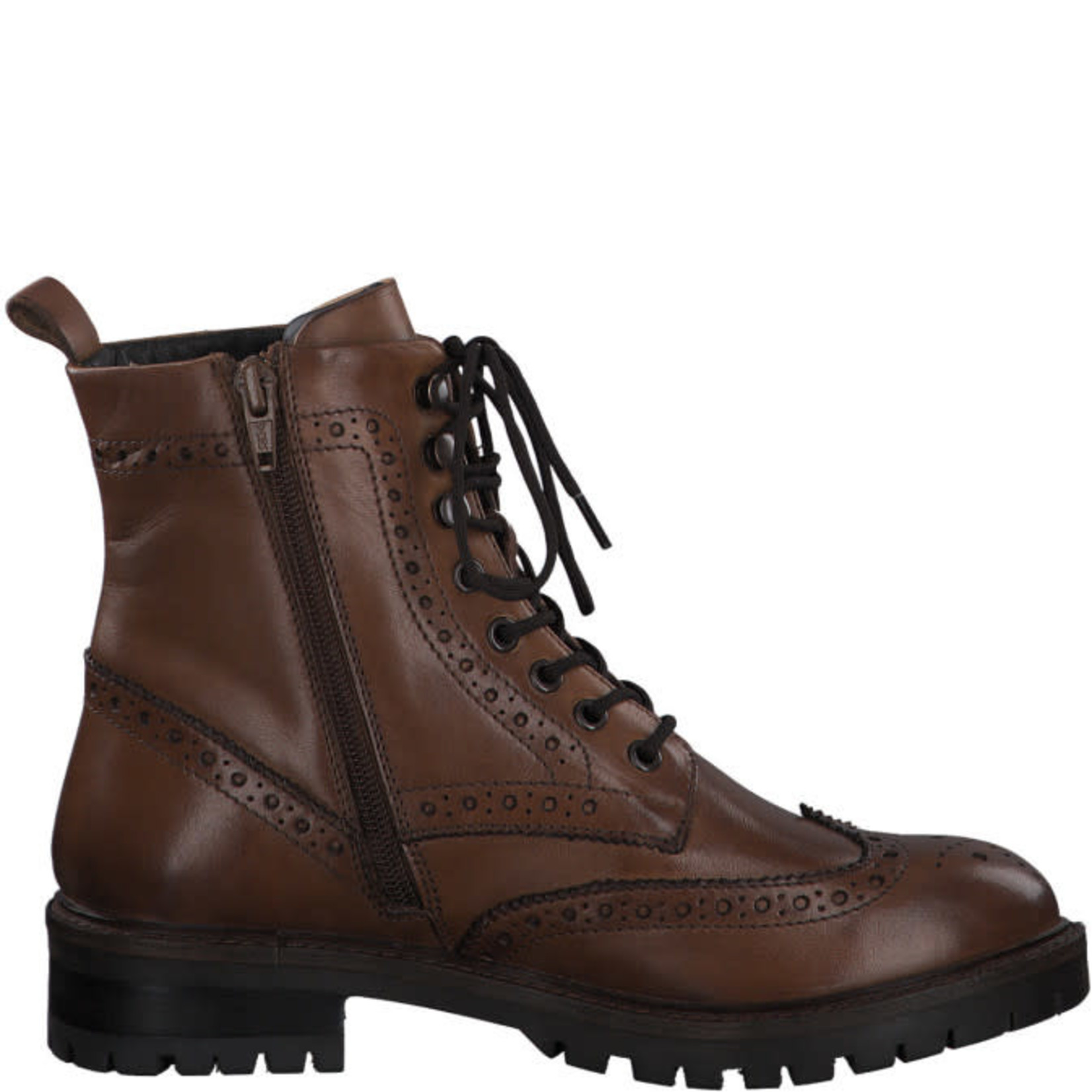 S.Oliver S.Oliver Hoge schoen/chelsea boots Cognac