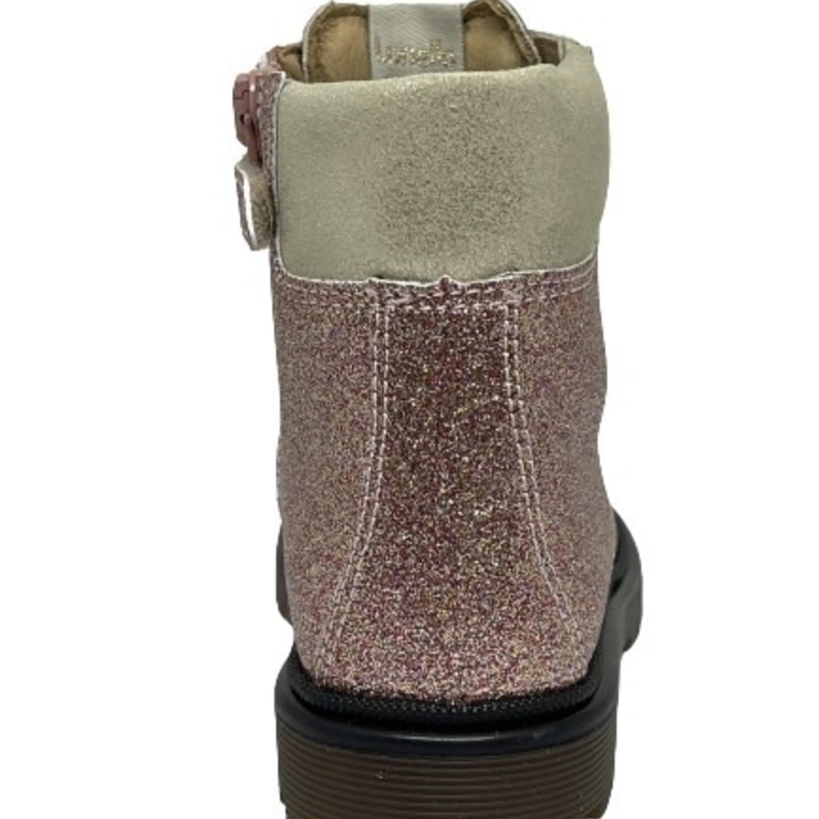 Lunella Lunella Hoge schoen Roze/glitter