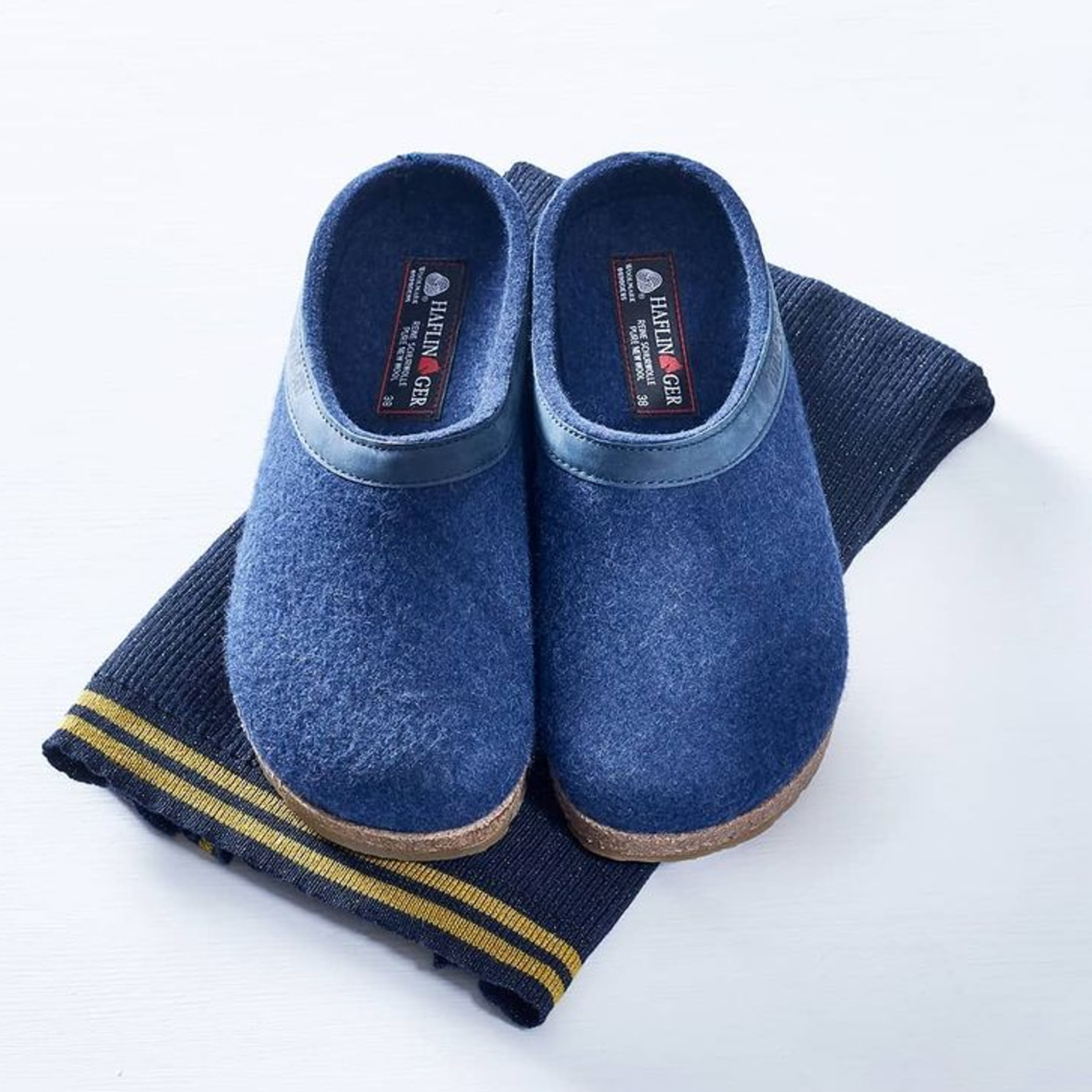 Pantoffel Blauw