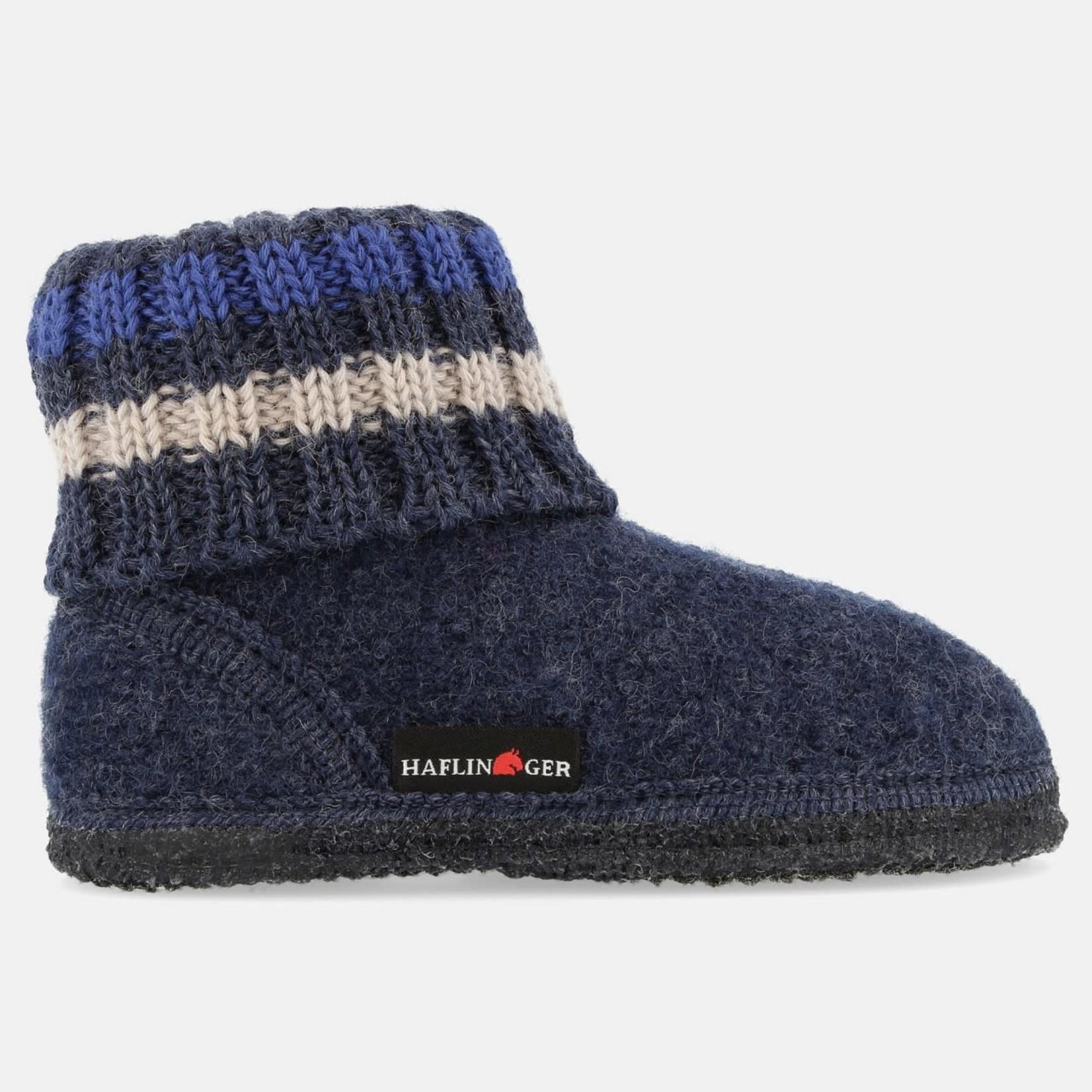 Sokpantoffel Blauw/grijs