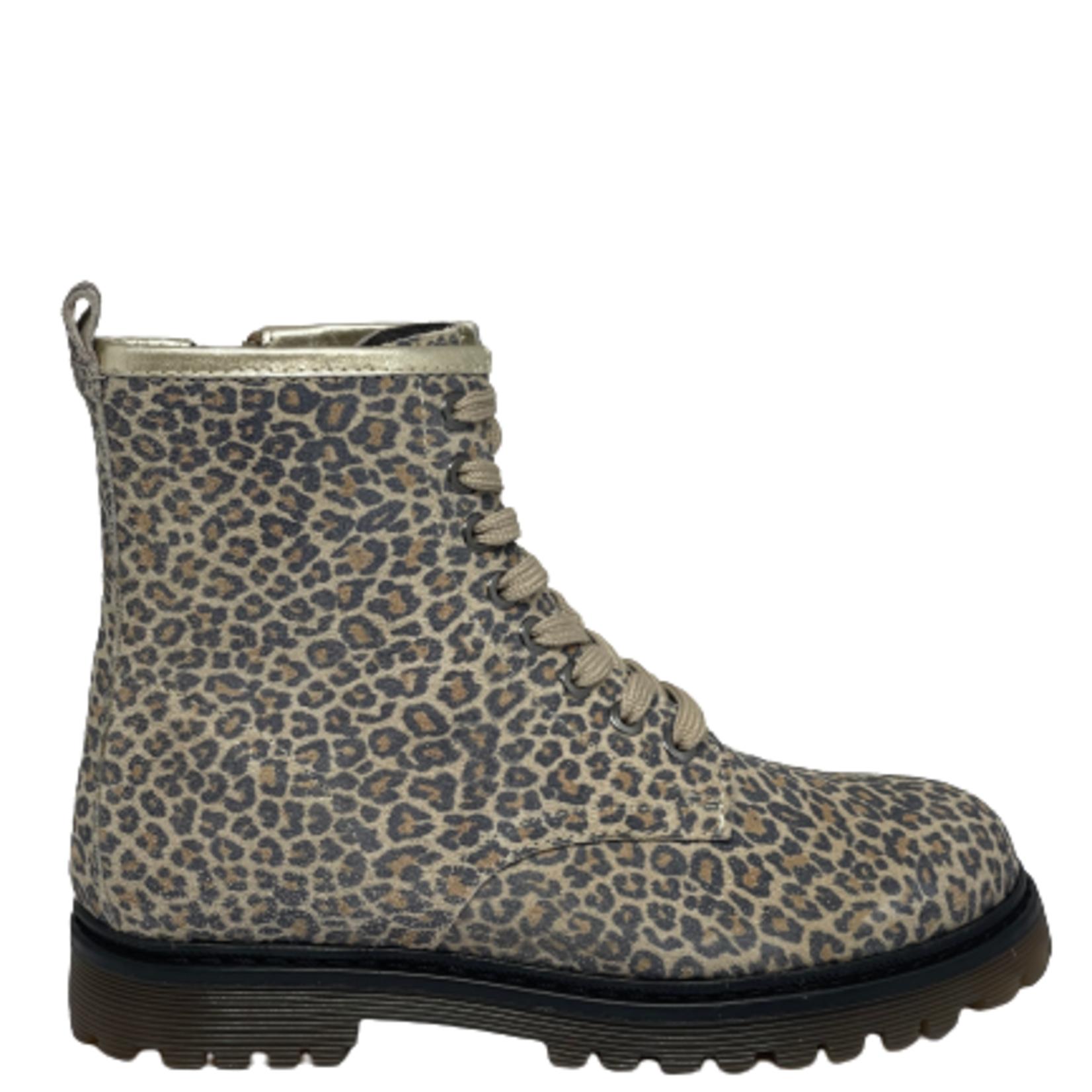 Hoge schoen Leopard