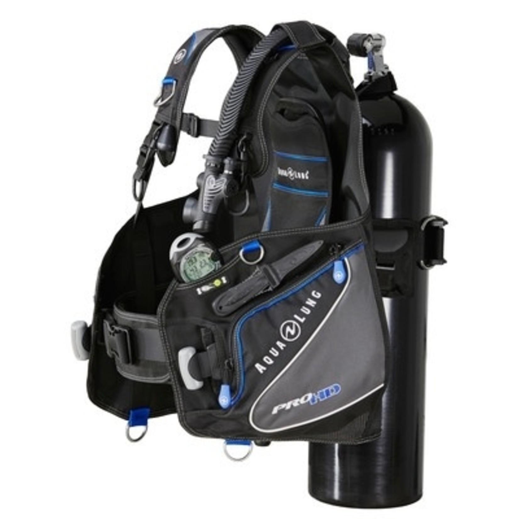 Aqua Lung Pro HD Black/Charcoal/Blue