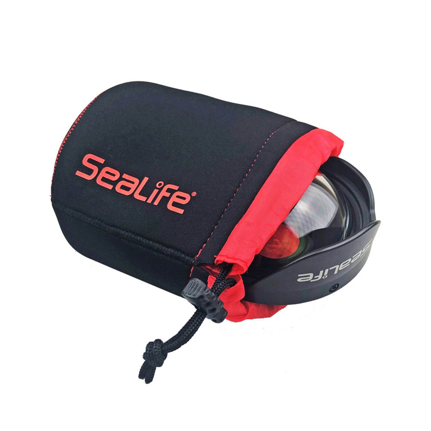 Sealife Protective Neoprene Gear Pouch for Camera's Lenses & Optics