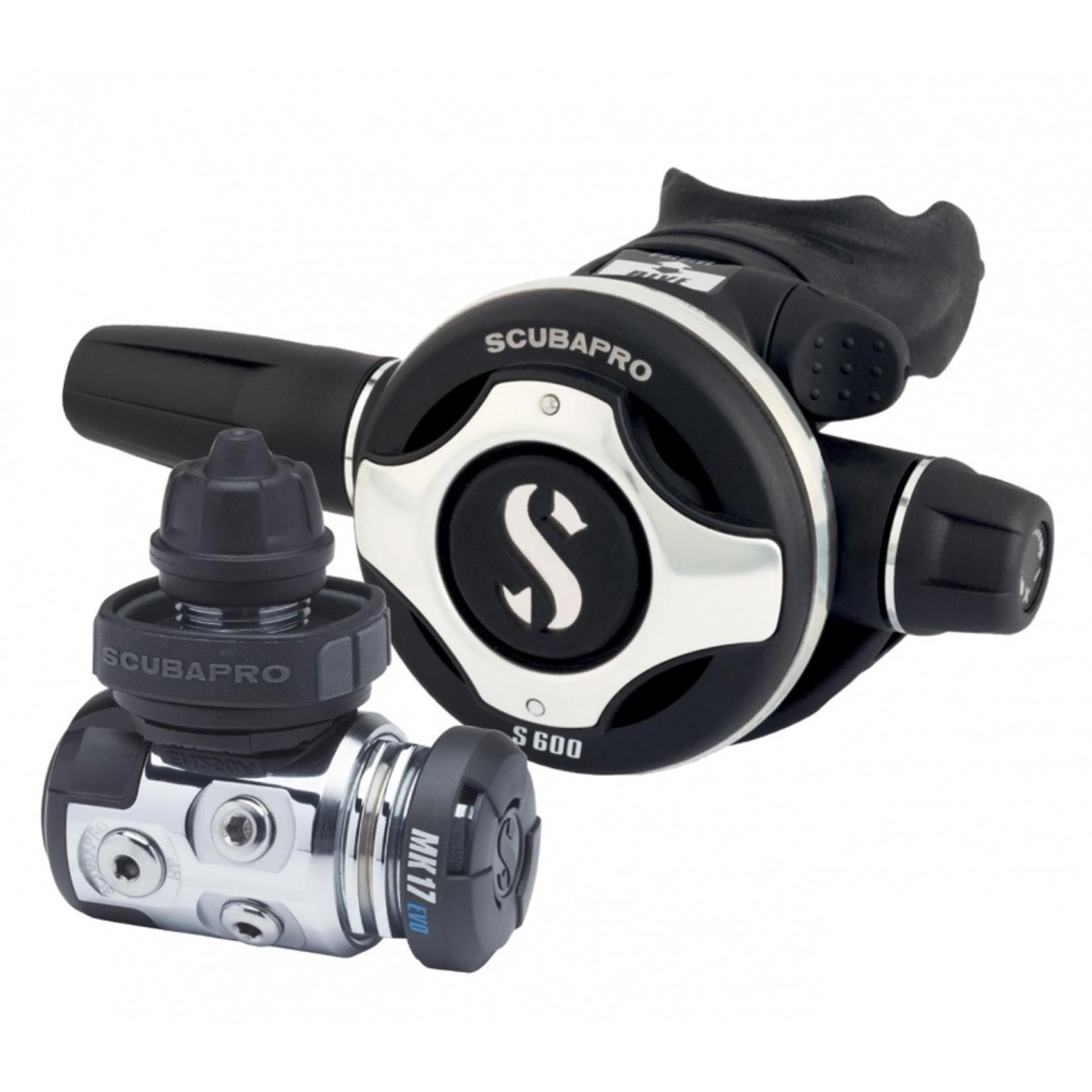Scubapro MK17 EVO / S600 set
