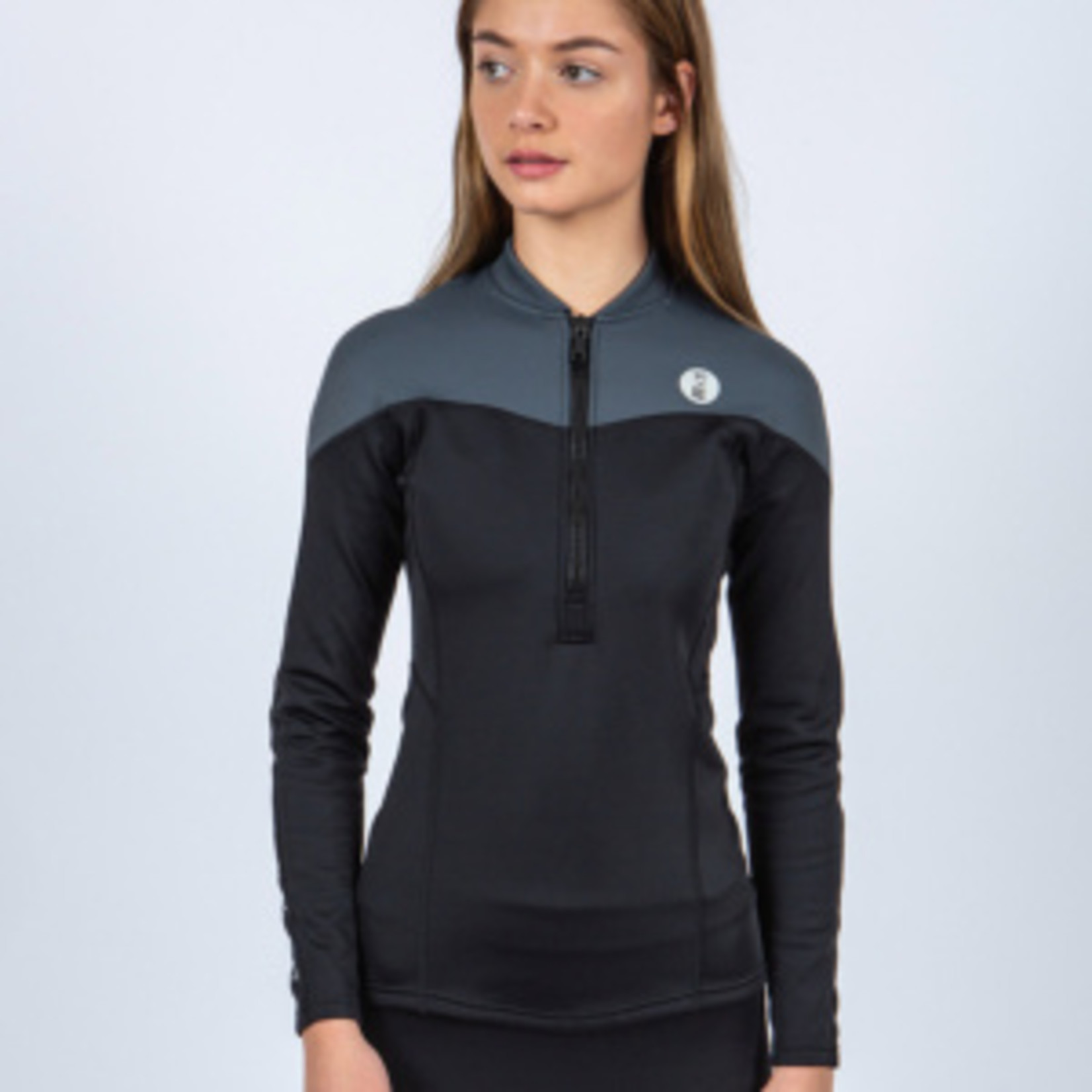 Fourth Element THERMOCLINE WOMENS L/S TOP - FRONT ZIP