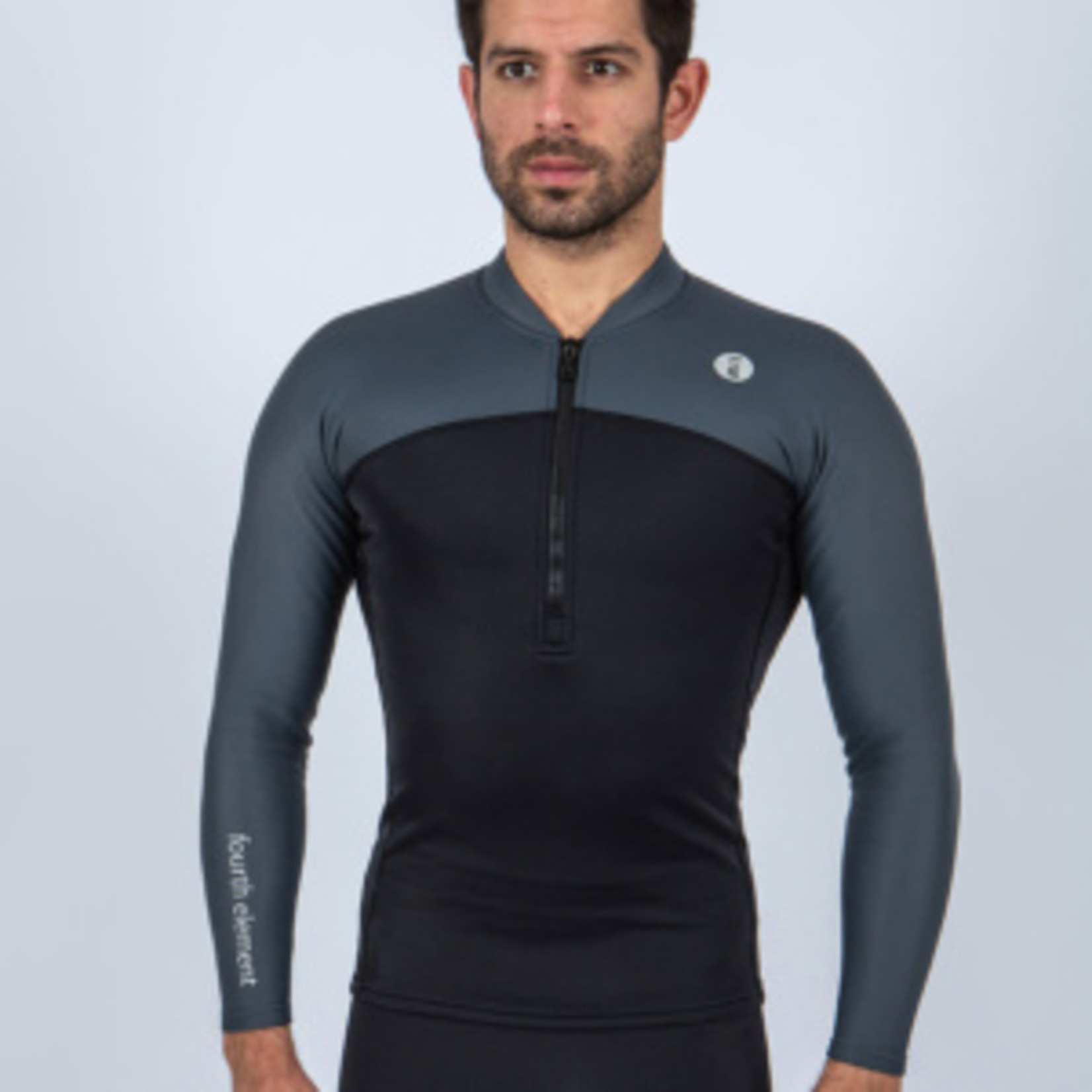 Fourth Element THERMOCLINE MENS L/S TOP - FRONT ZIP