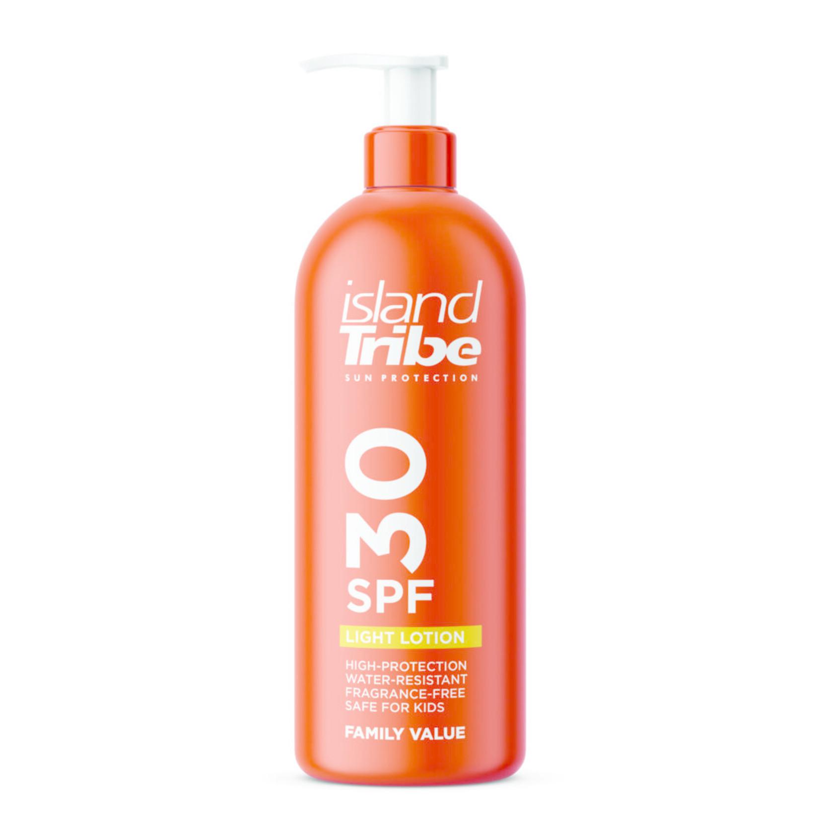 IslandTribe SPF 30 light lotion dispencer 450ml