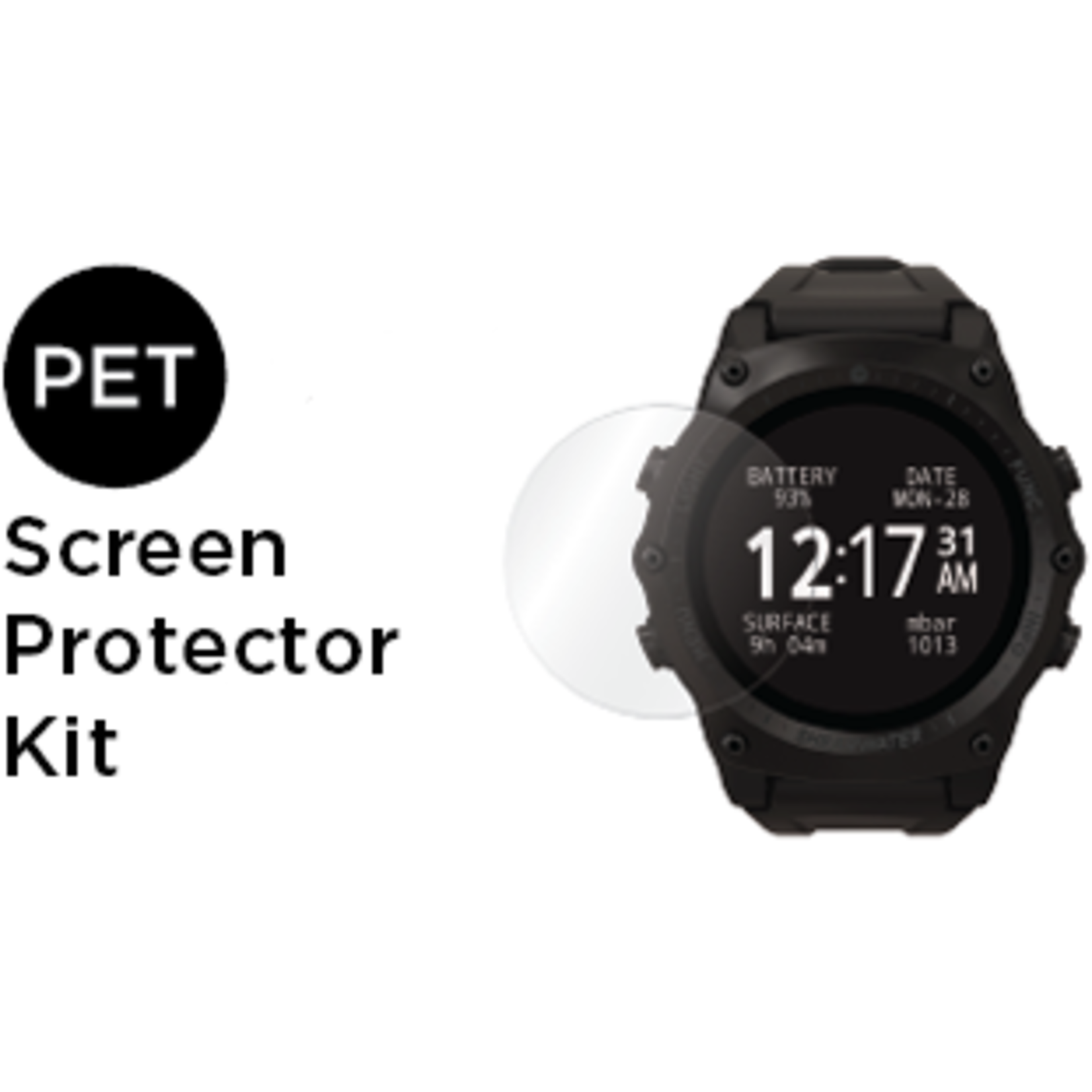 Shearwater Screen protector for Teric