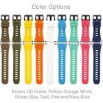 Shearwater Teric dual colour strap