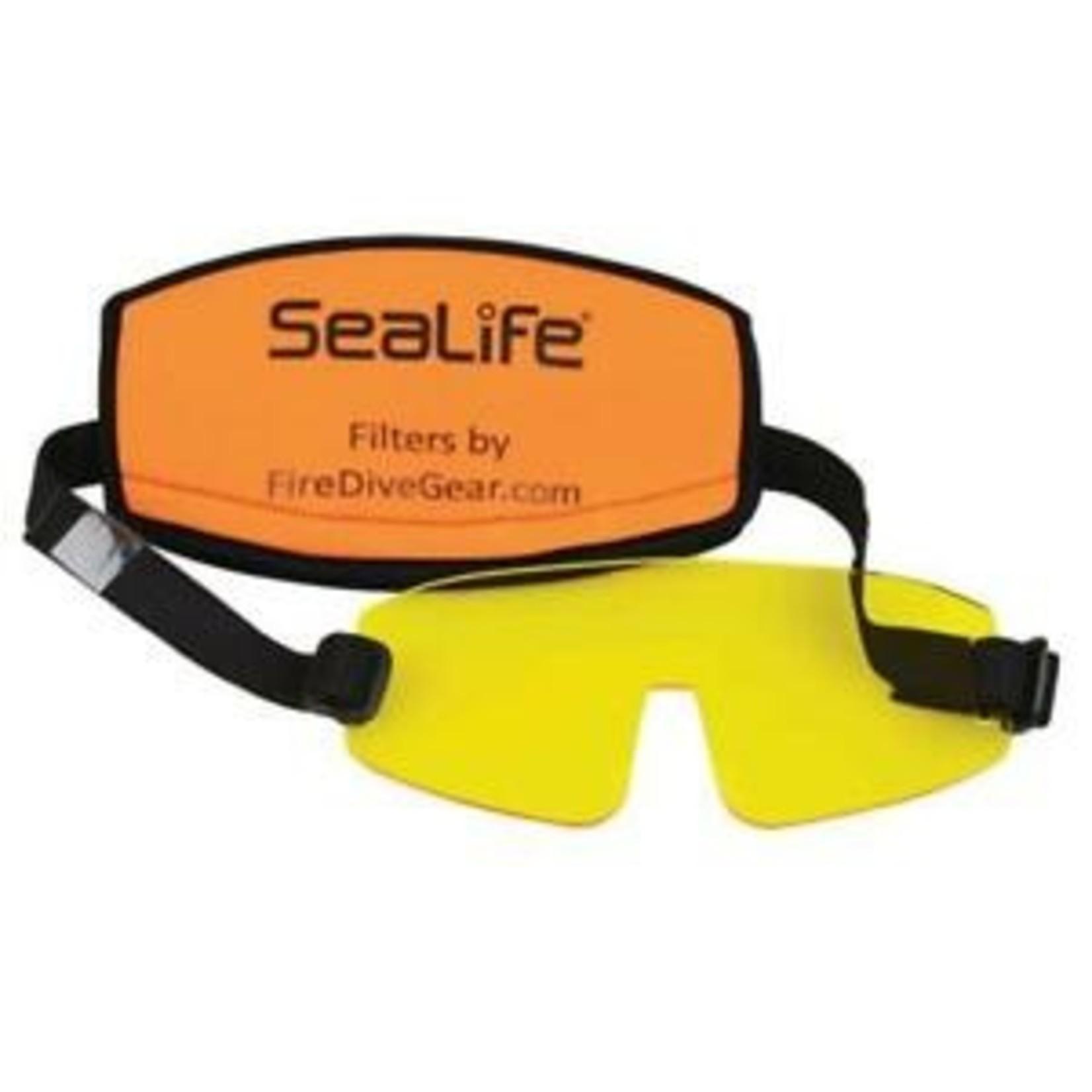 Sealife Sea Dragon Mini Fluoro Light & Mask Filter (batteries not included)