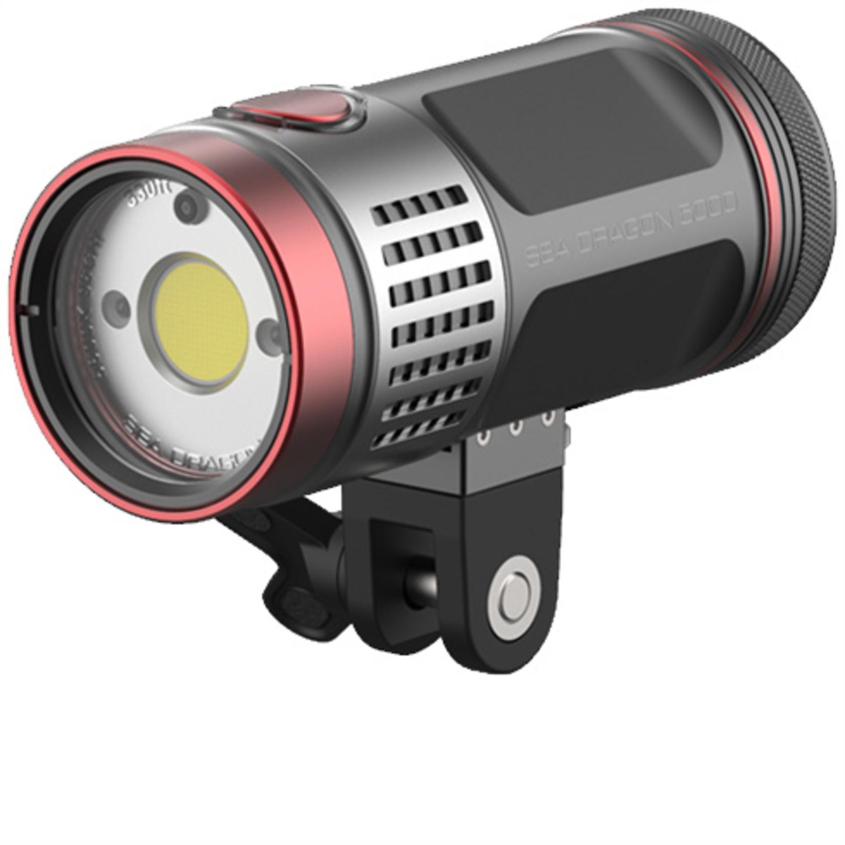Sealife Sea Dragon 5000 Auto UW Photo-Video Light Head (incl. YS Mount, battery&charger)