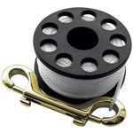 Scubapro MINI REEL LARGE, with approx. 30 m rope and brass hook