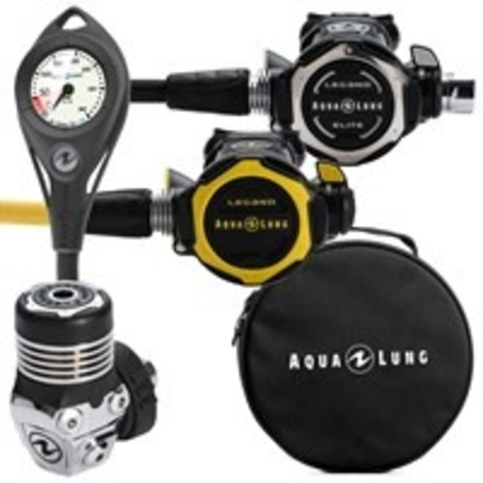 Aqua Lung Pack Leg3nd Elite DIN + Leg3nd Octopus + PG + Regulator Bag