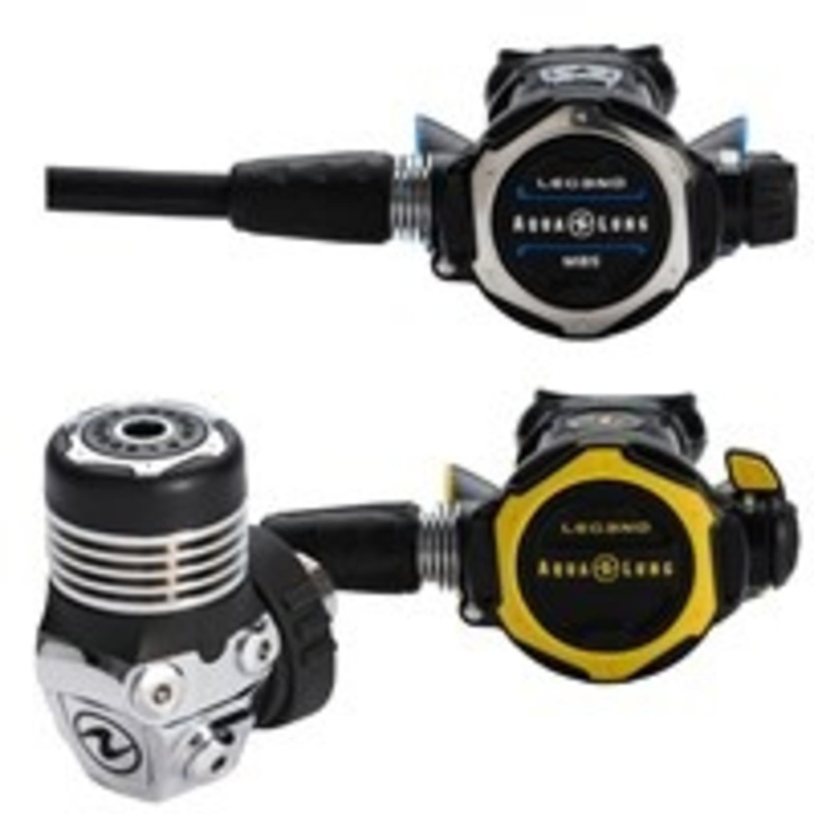 Aqua Lung Set Leg3nd MBS DIN + Leg3nd Octopus