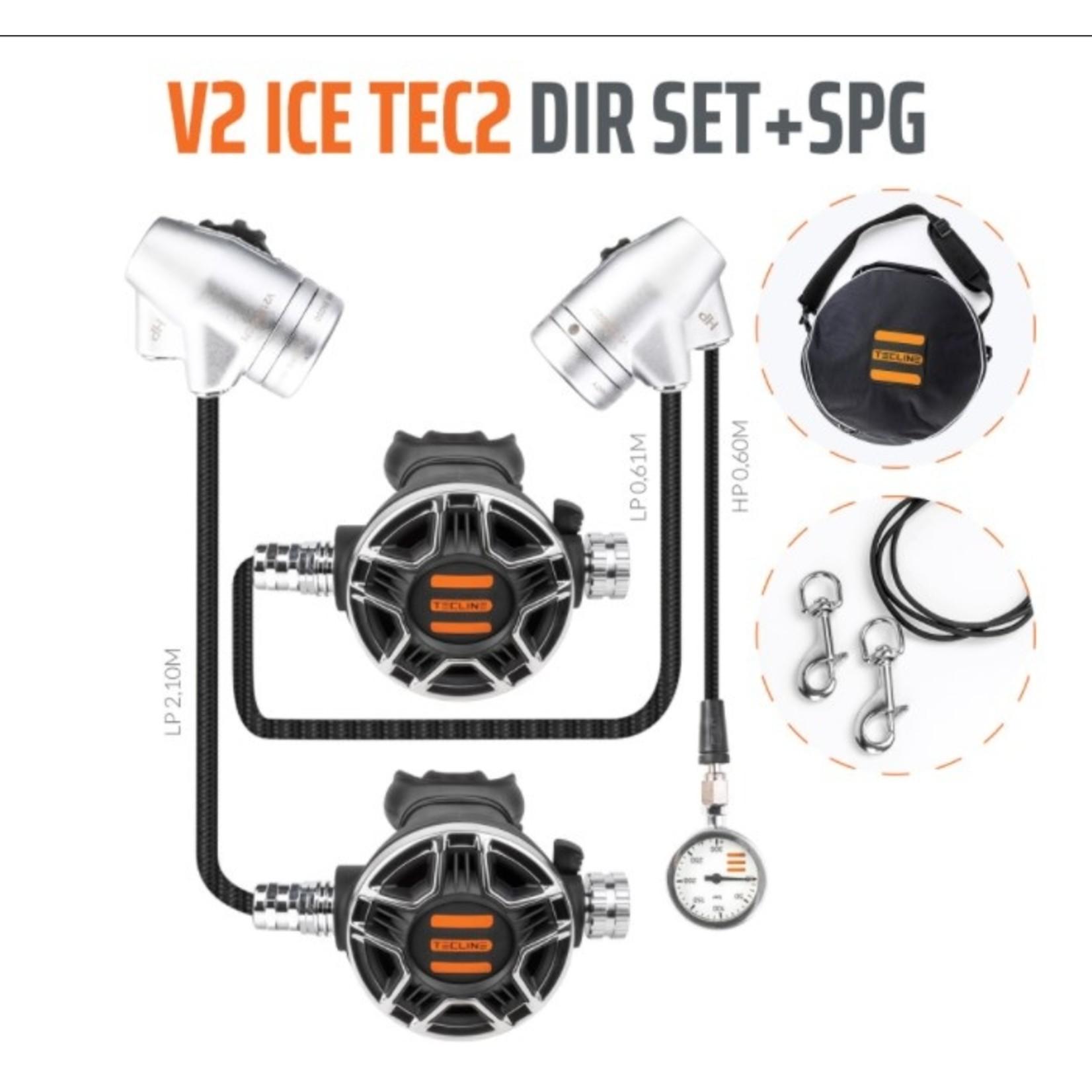 Tecline Regulator V2 ICE TEC2 DIR Set with SPG - EN250A