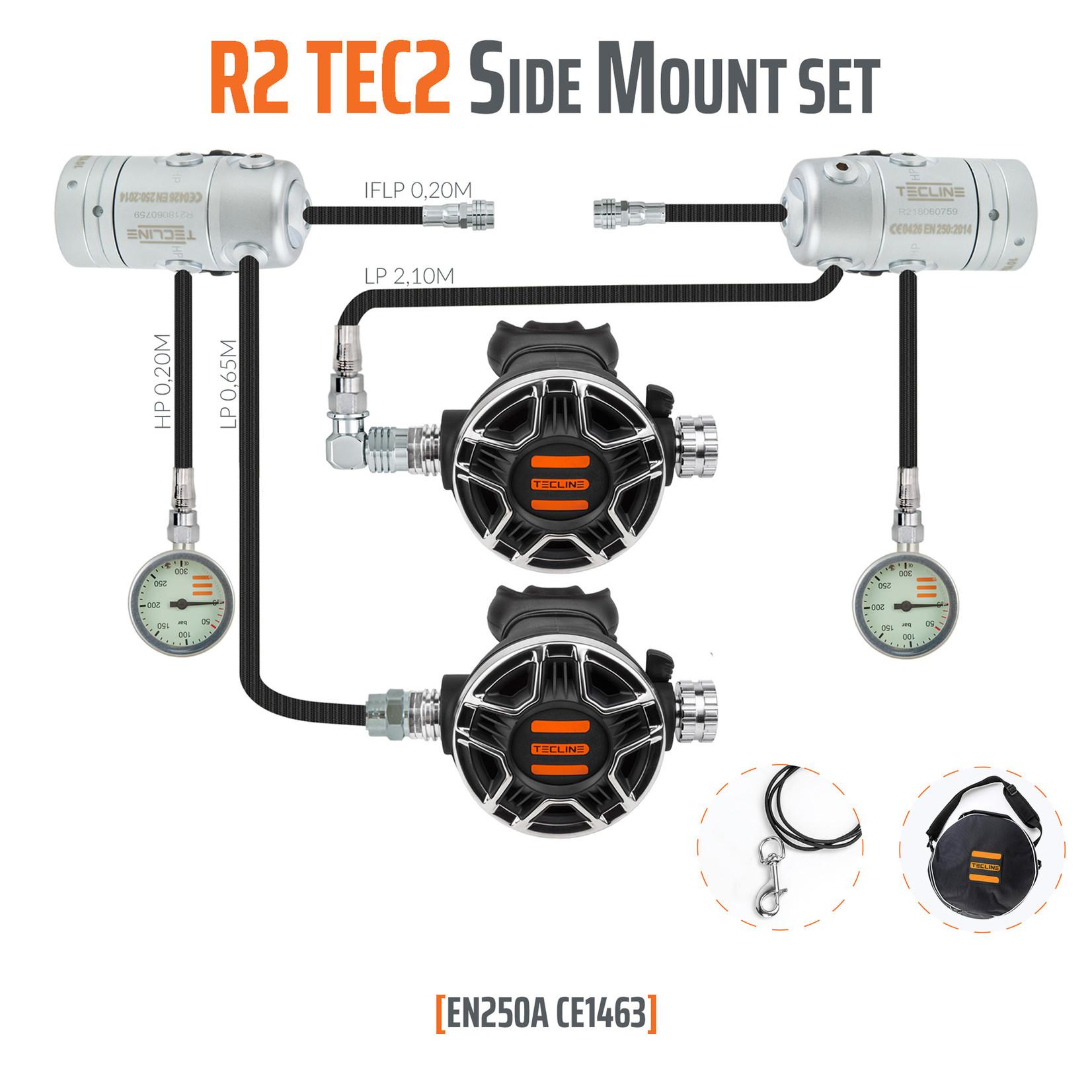 Tecline Regulator R2 TEC2 Side Mount set - EN250A