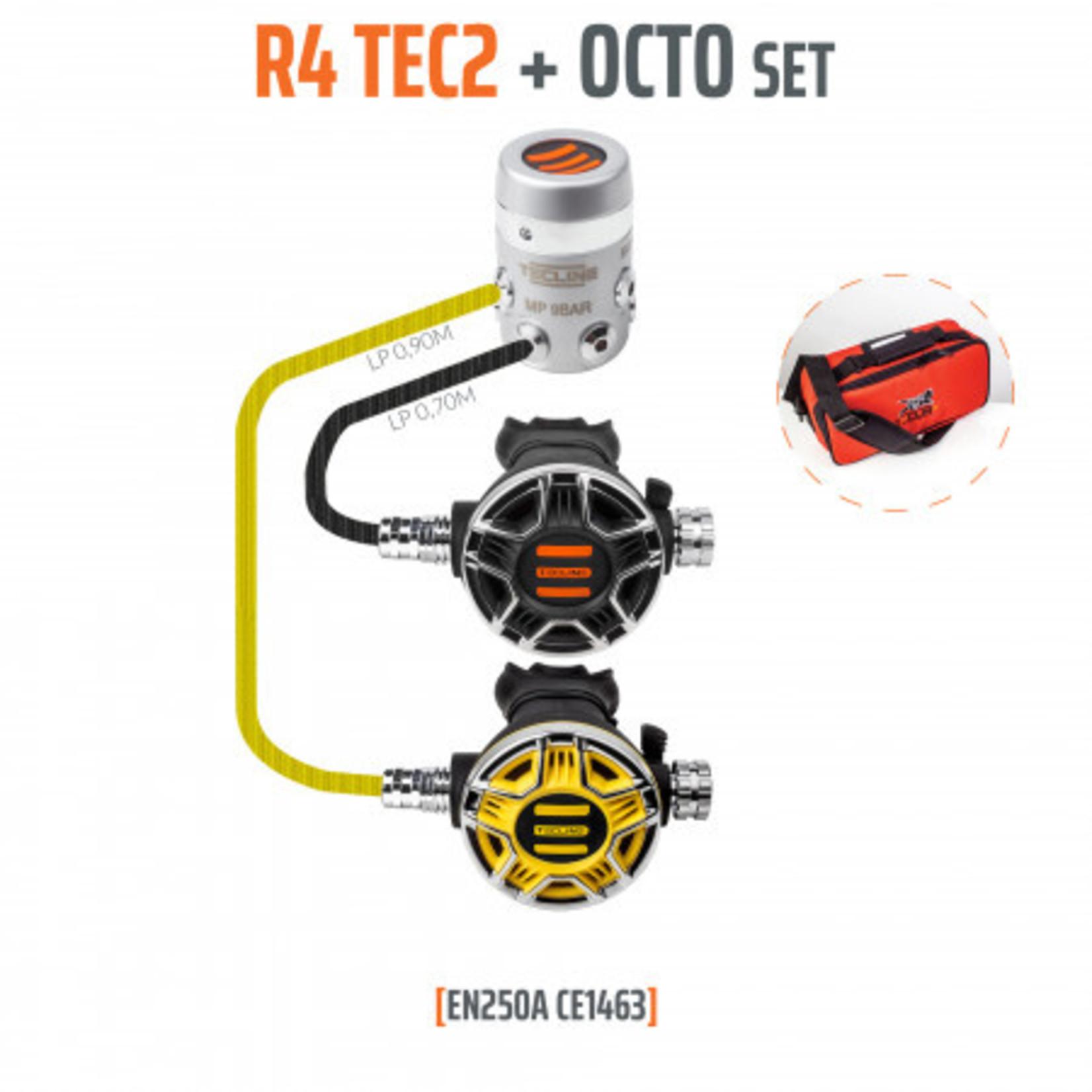 Tecline Regulator R4 TEC2 and octopus - EN250A
