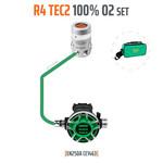 Tecline Regulator R4 TEC2 100% O2 M26x2, stage set - EN250A