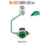 Tecline Regulator R4 TEC1 100% O2 M26x2, stage set - EN250A