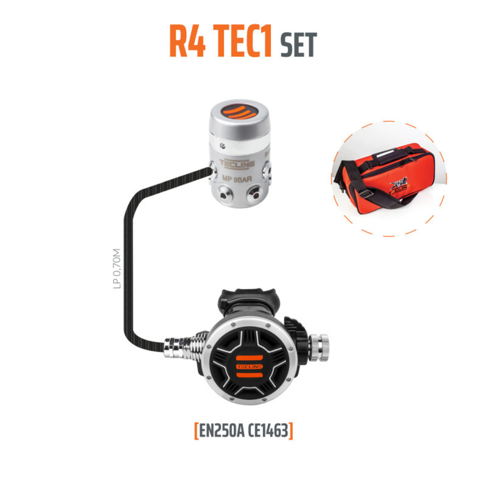 Tecline Regulator R4 TEC1 - EN250A