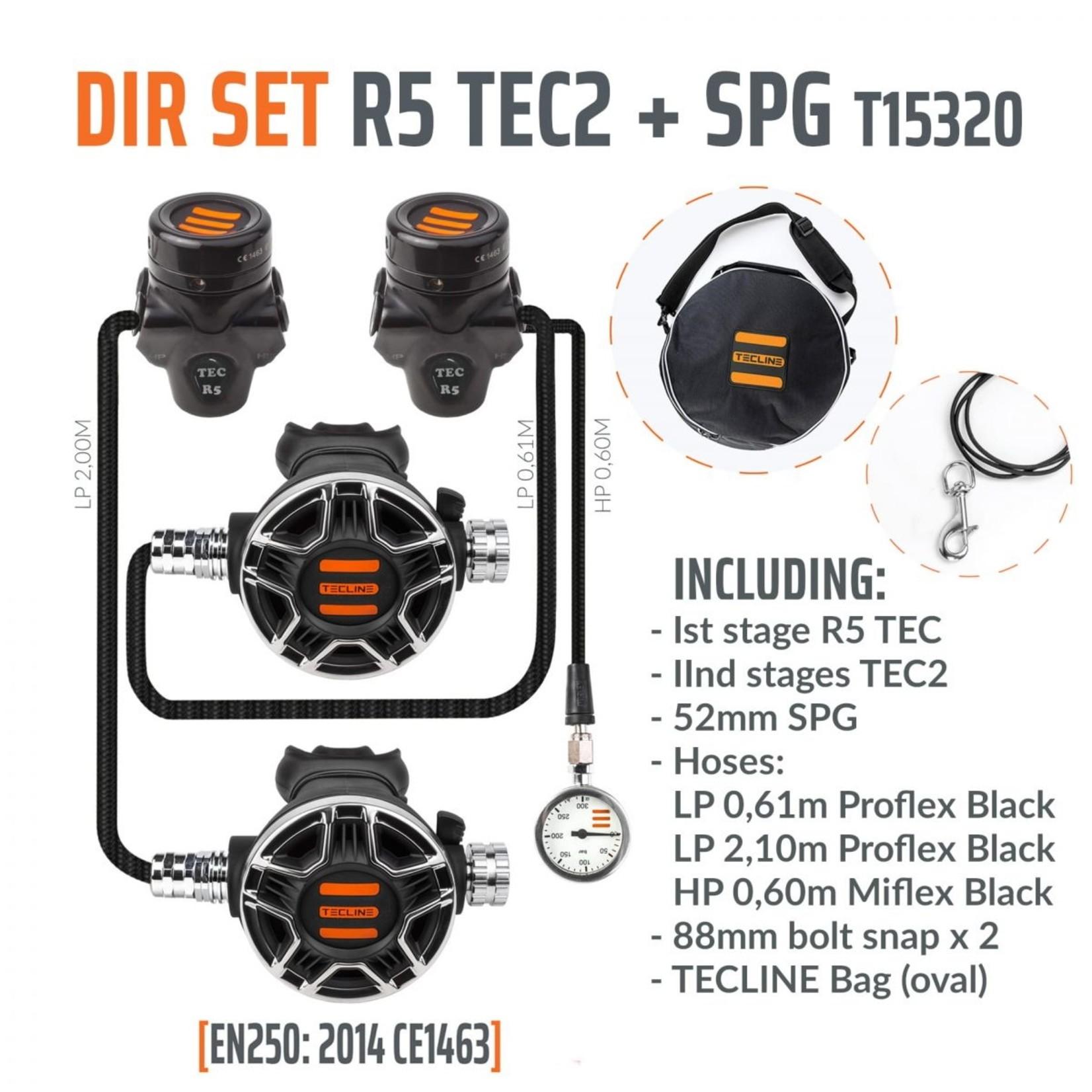 Tecline Regulator R5 TEC2 DIR Set with SPG - EN250A