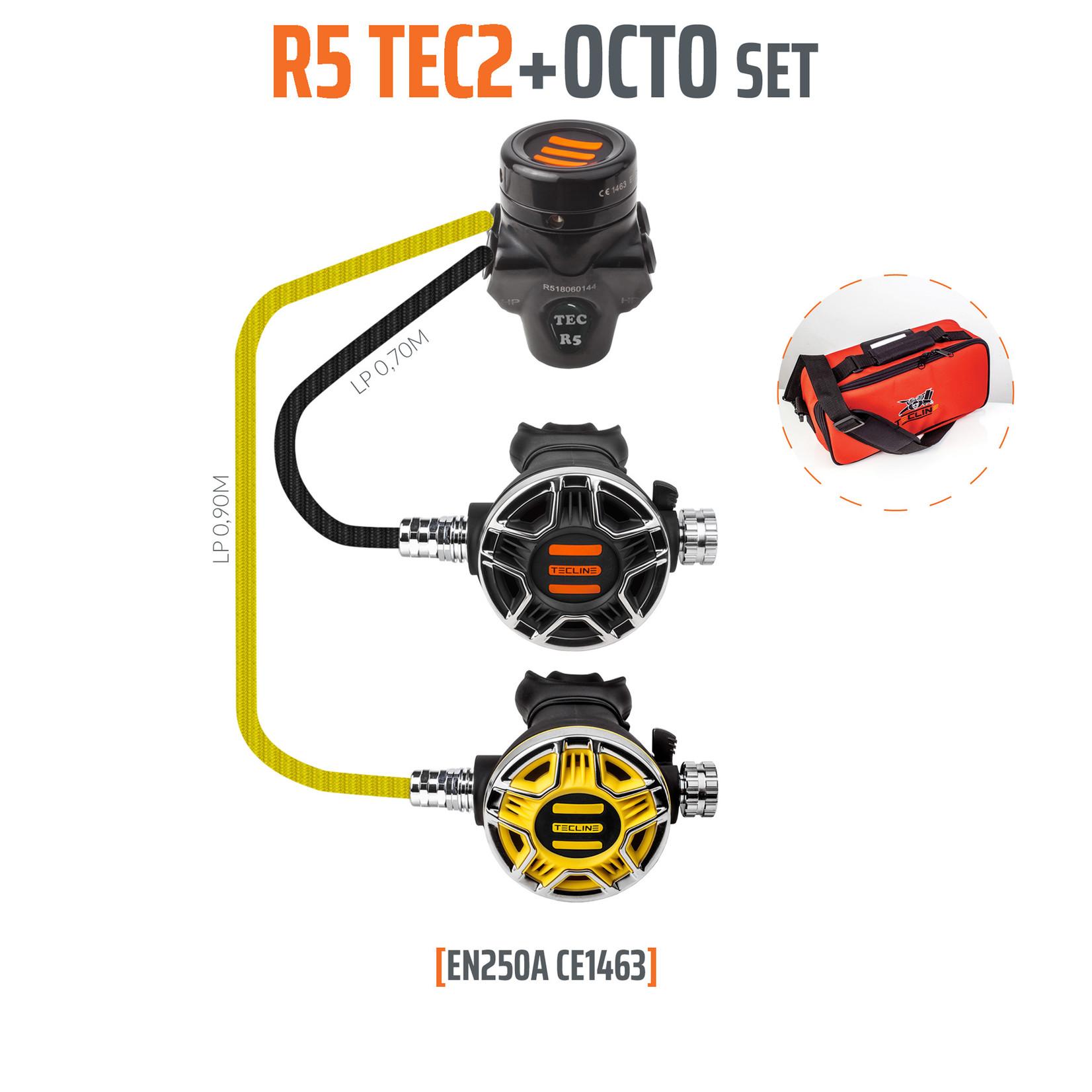 Tecline Regulator R5 TEC2 and octopus - EN250A
